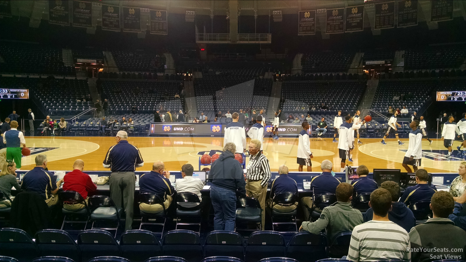 Seat View for Joyce Center  Section 1, Row G