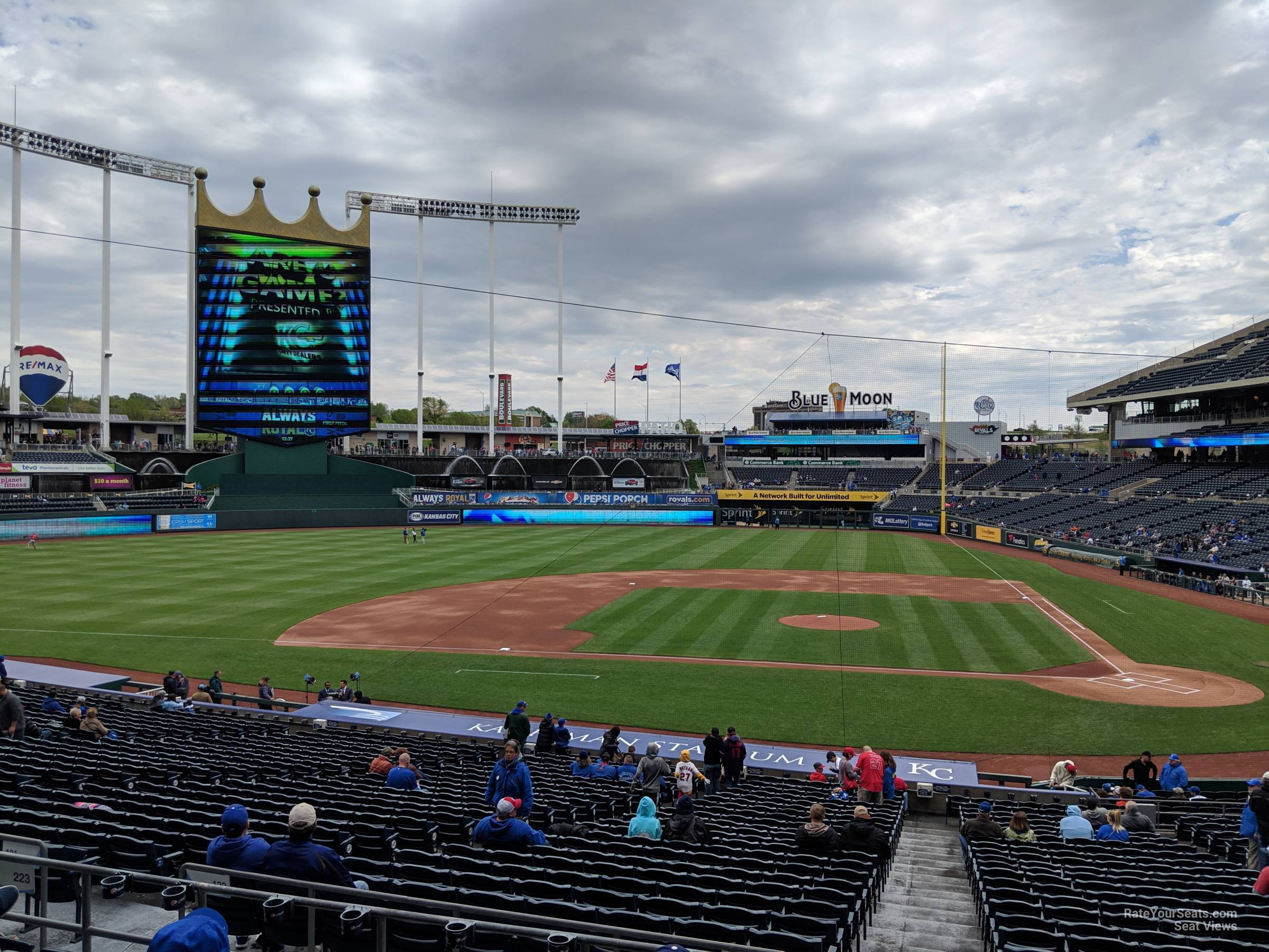 Section 223 seat view