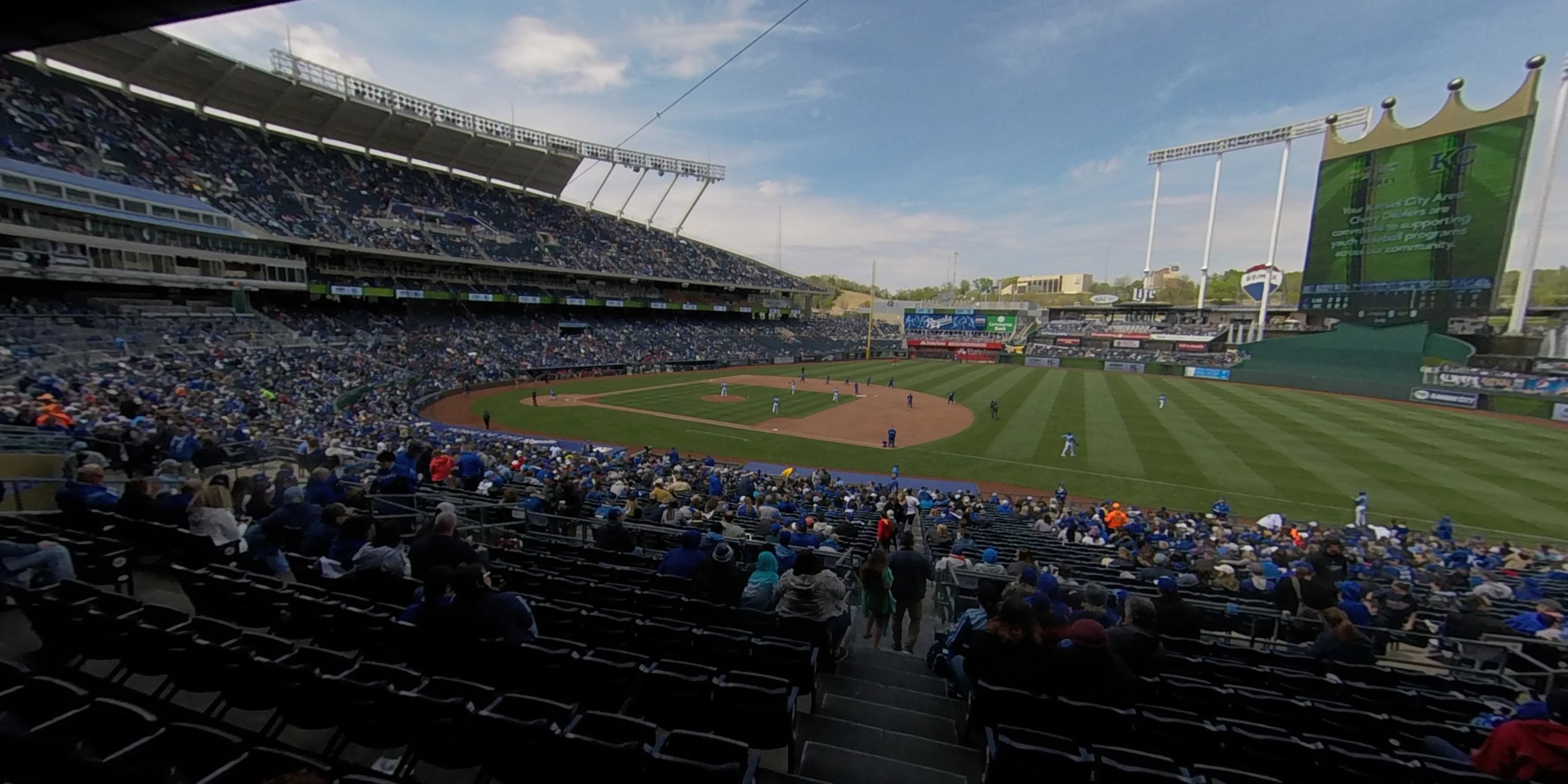 360° Photo From Kauffman Stadium Section 239