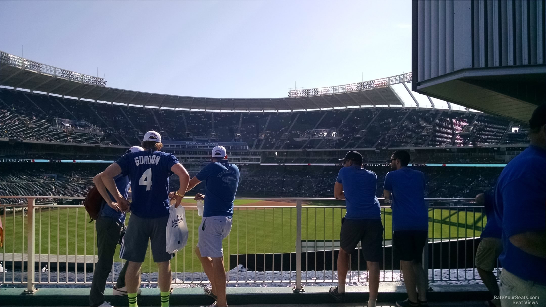 Seat View For Kauffman Stadium Standing Room Only