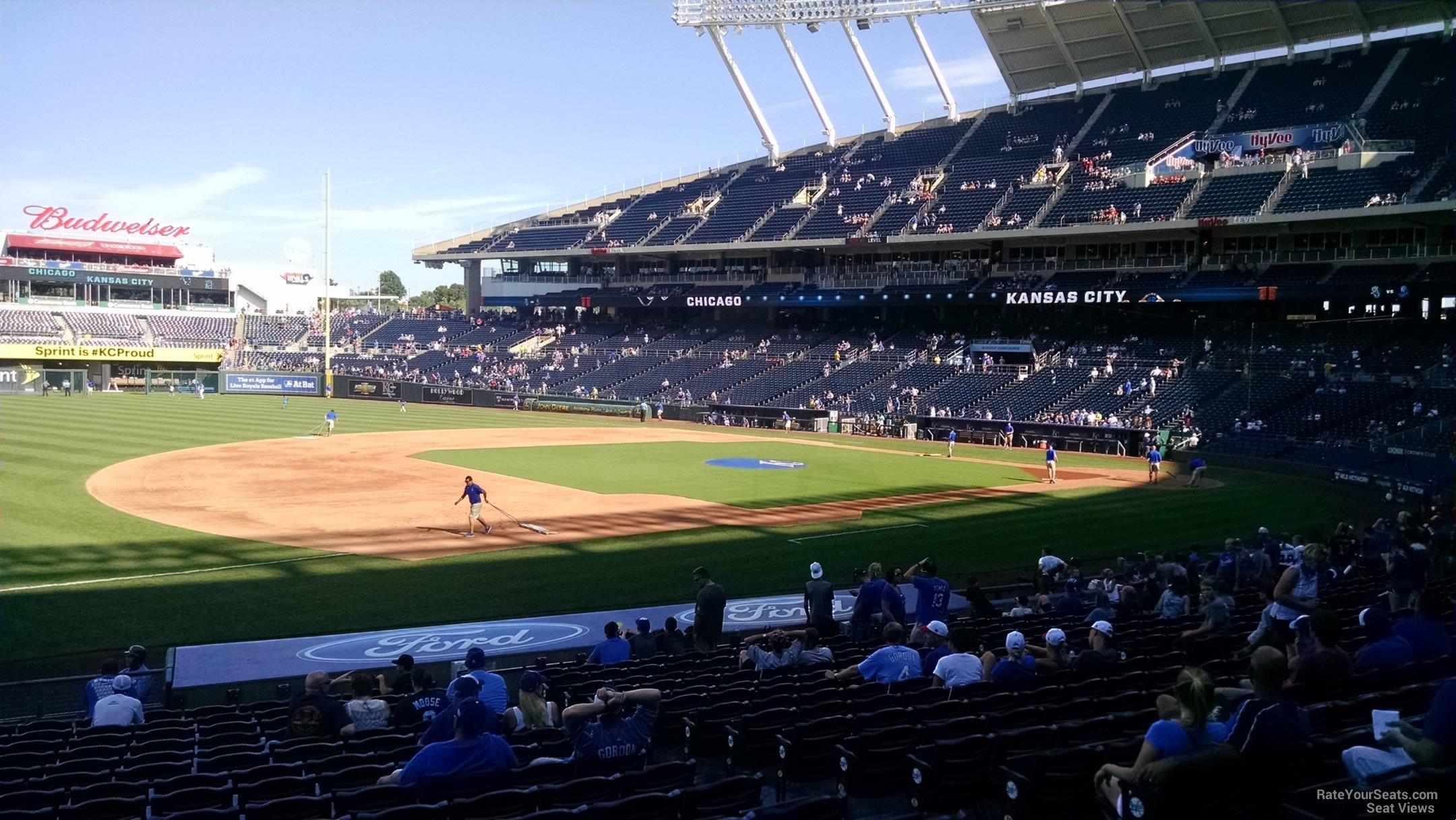 Kauffman Stadium Section 116 - RateYourSeats.com