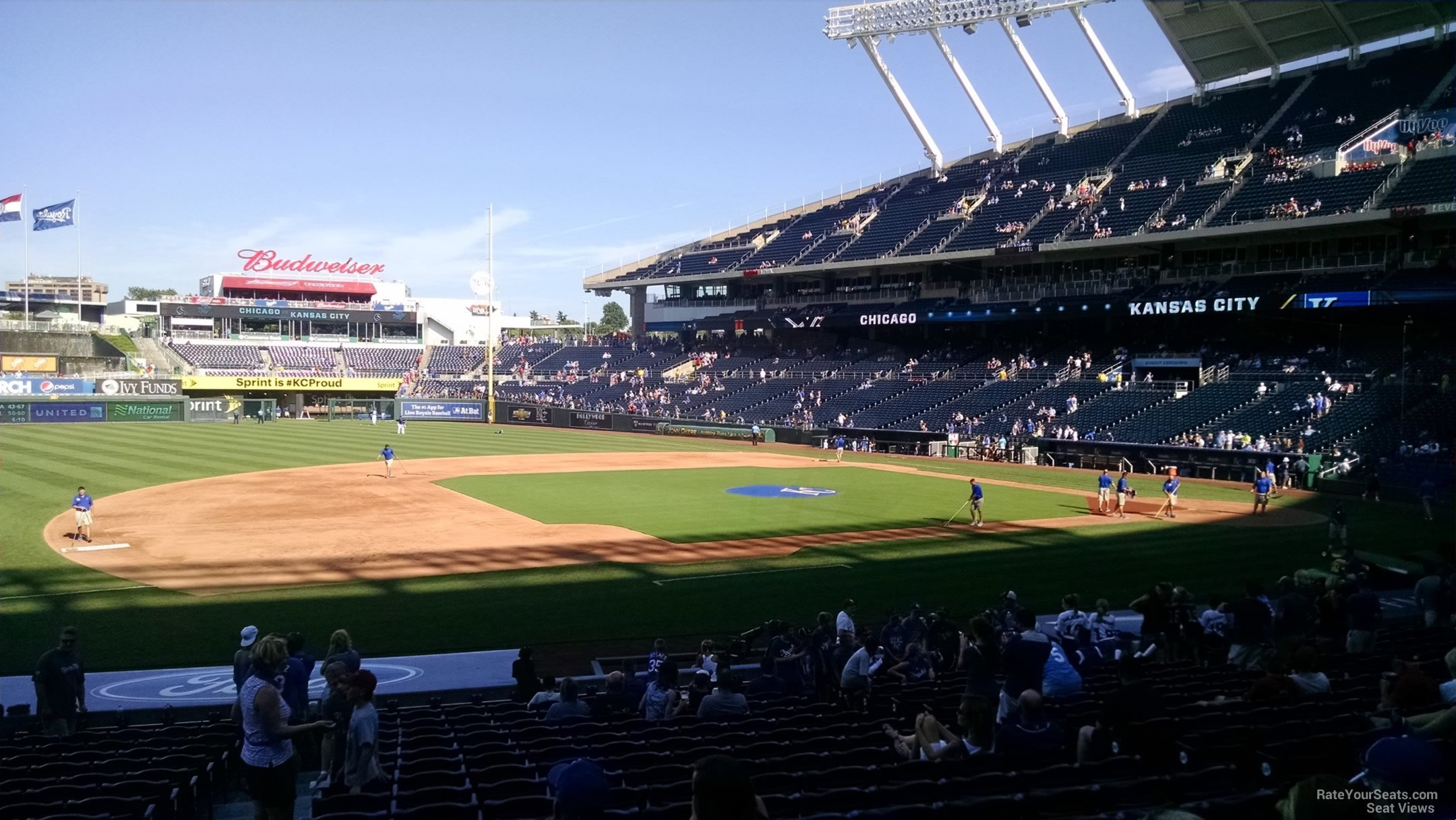 Kauffman Stadium Section 118 - RateYourSeats.com