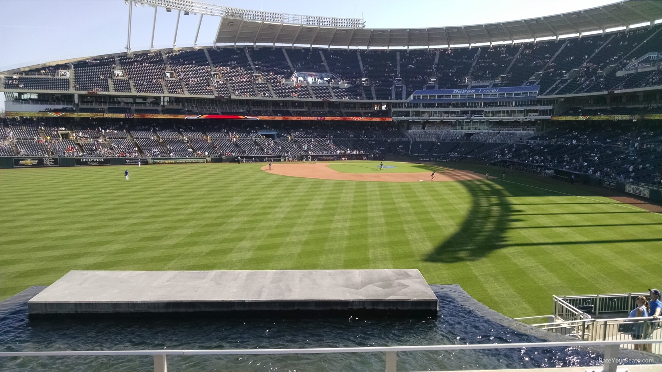 Kauffman Stadium Section 203 RateYourSeats