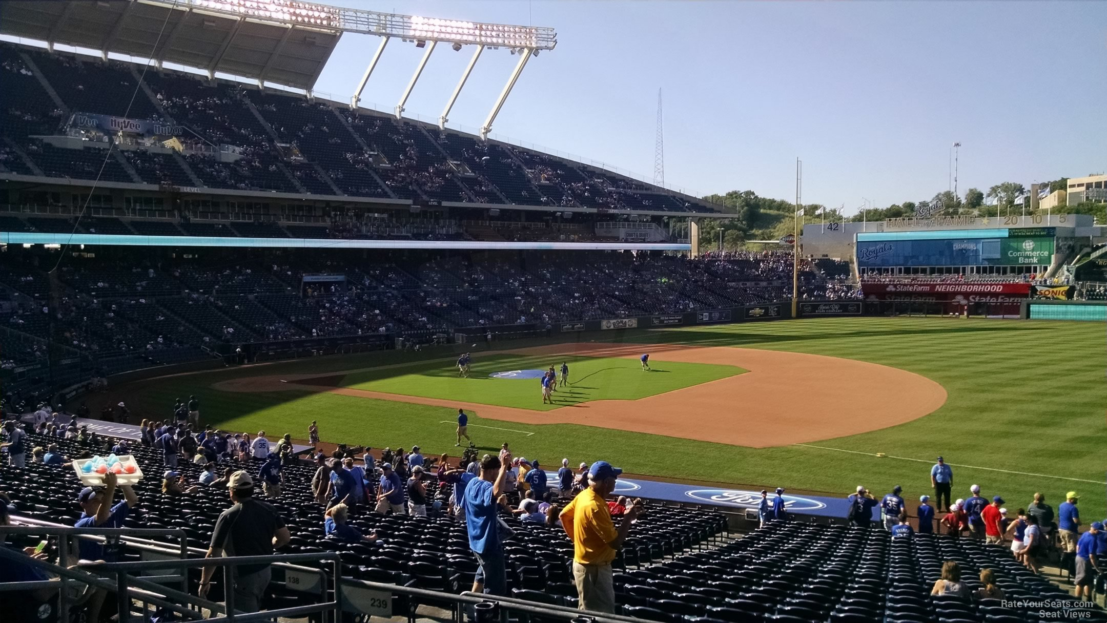 Seat View for Kauffman Stadium Section 239, Row EE