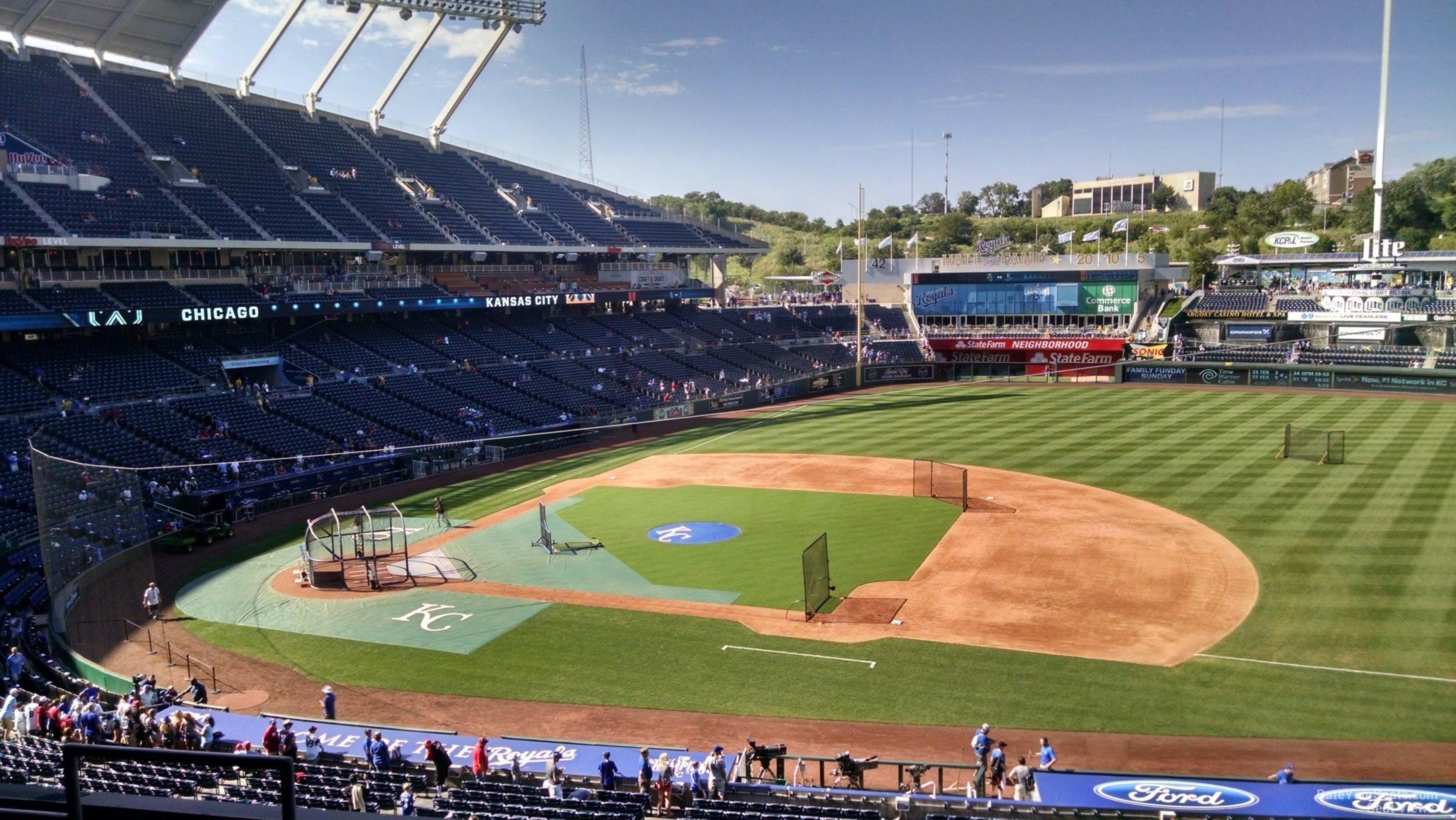 Royals Stadium Seating Map Best Seat 2018
