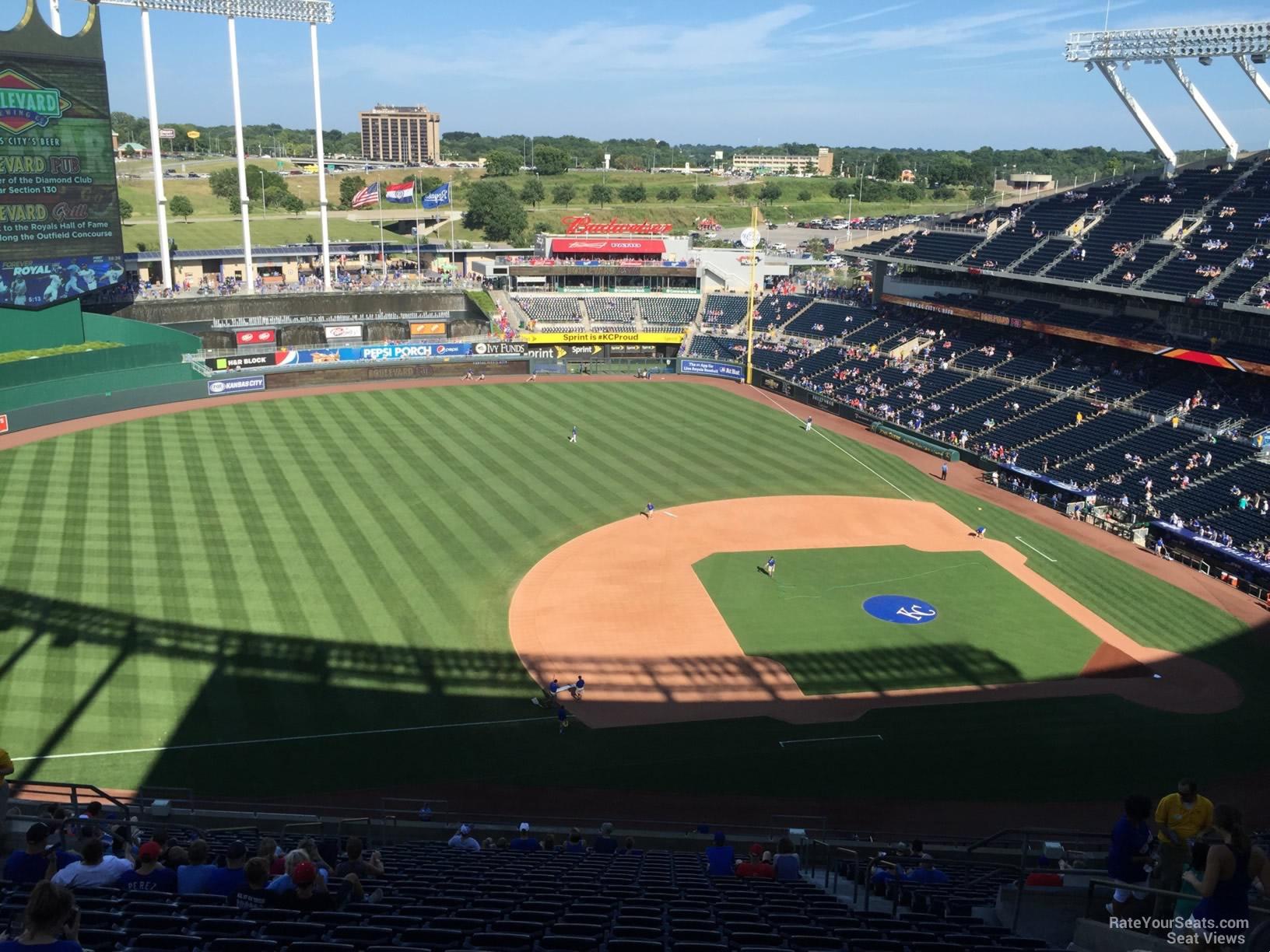 Kauffman Stadium Section 409 - RateYourSeats.com