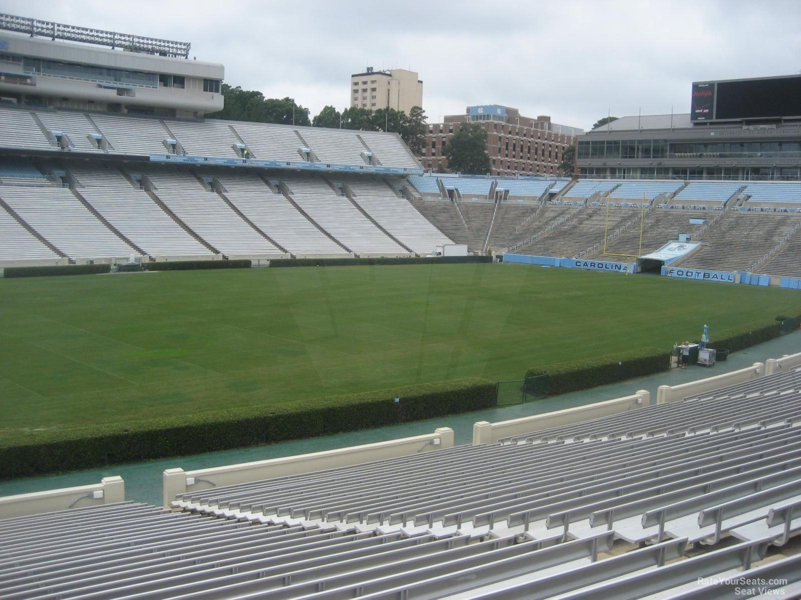 Triple Aaa Number >> Kenan Memorial Stadium Section 102 - RateYourSeats.com