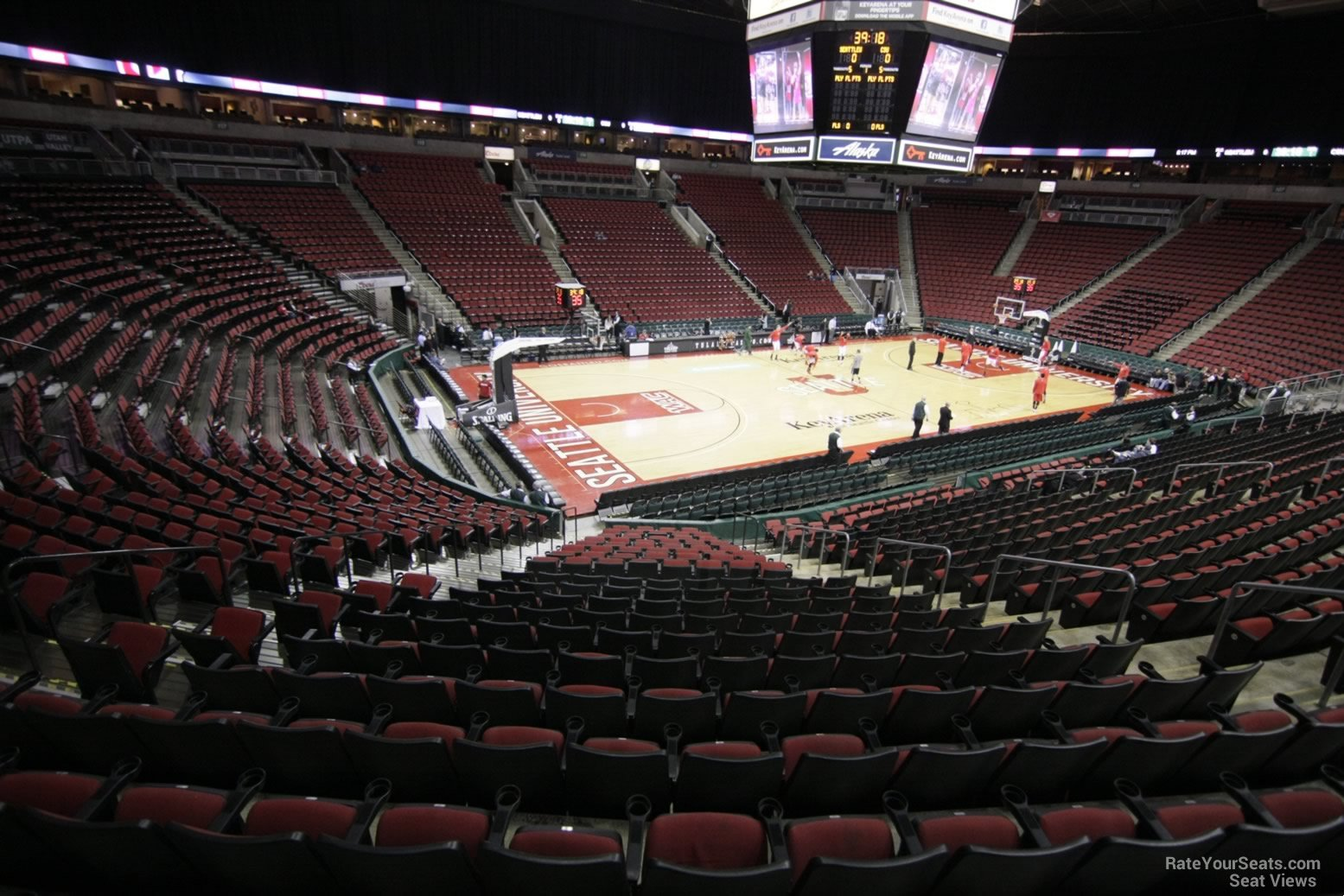 Section 125 seat view