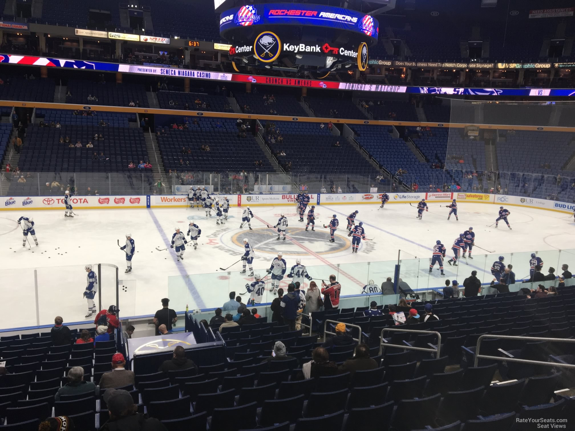 Buffalo Sabres Seat View for KeyBank Center Section 106