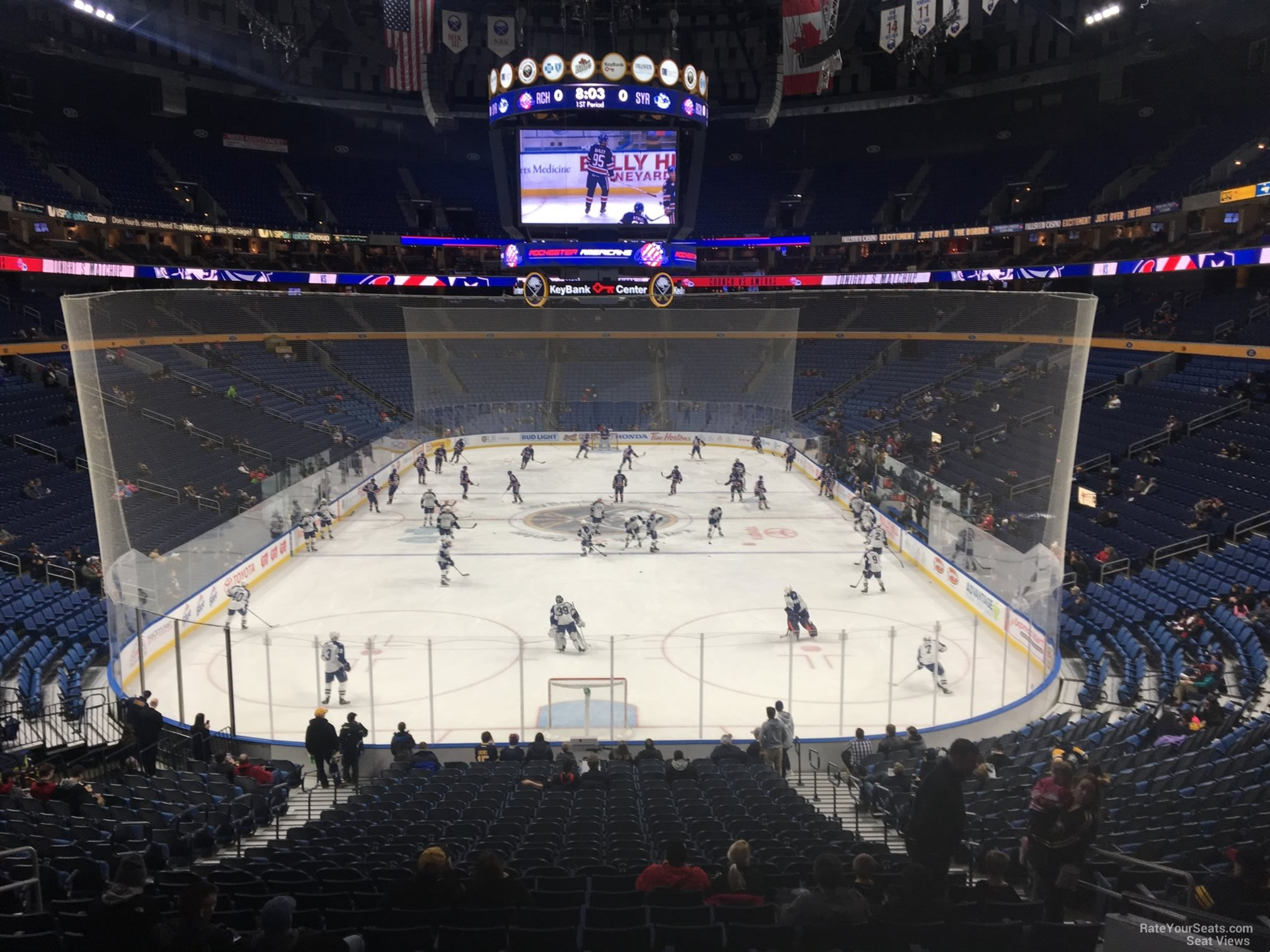 Buffalo Sabres Seat View for KeyBank Center Section 111
