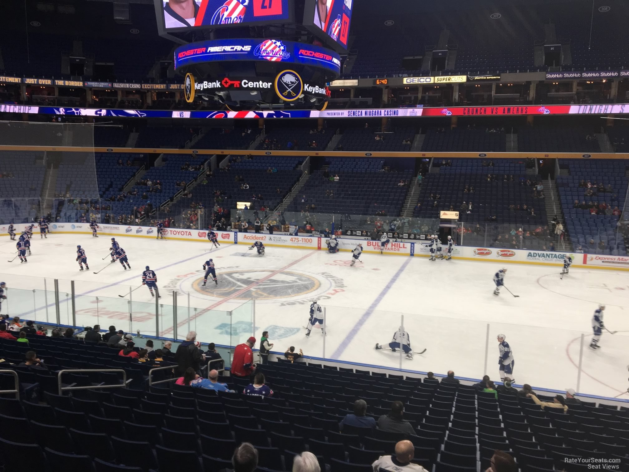 Buffalo Sabres Seat View for KeyBank Center Section 116