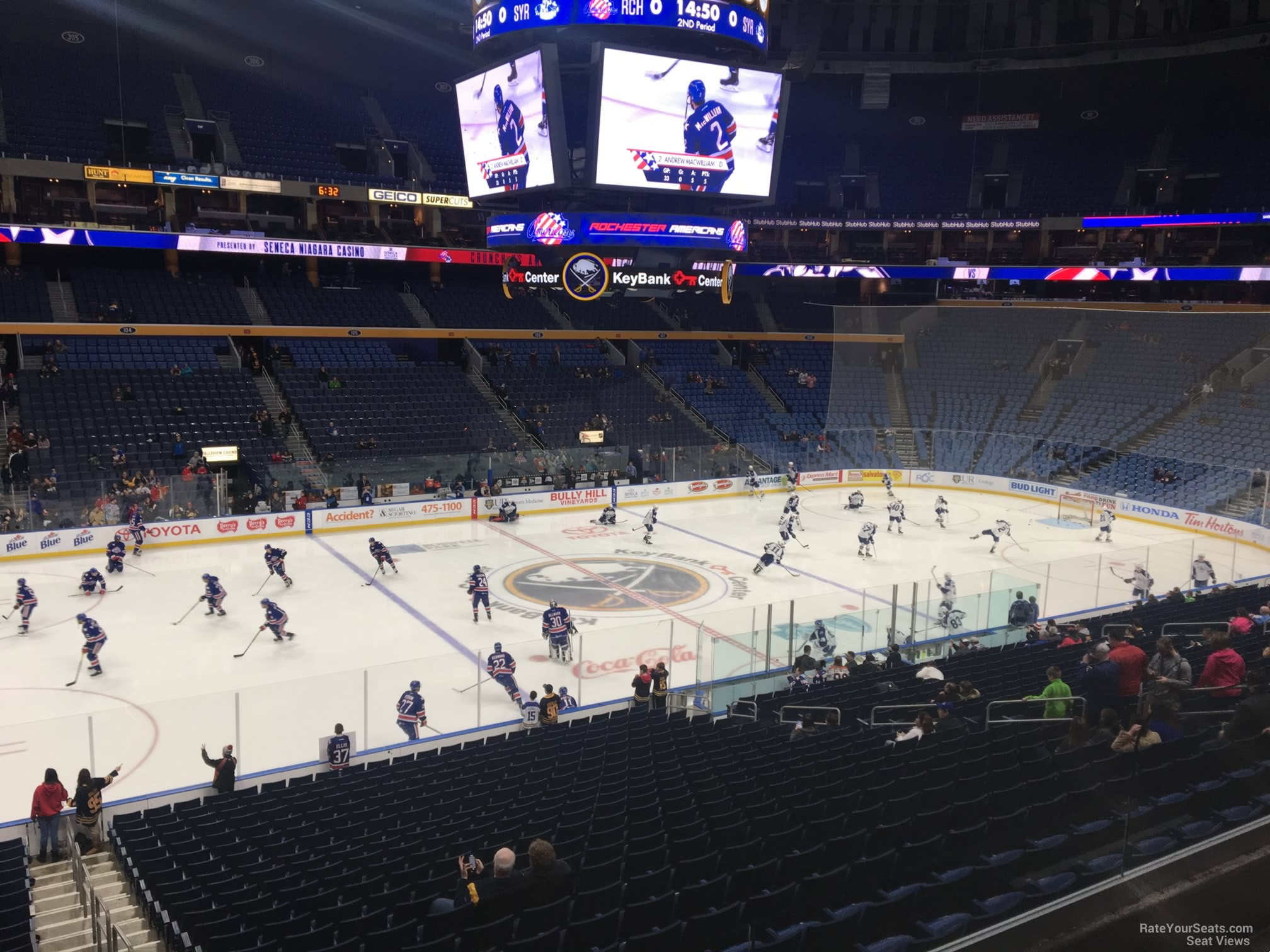 Buffalo Sabres Seat View for KeyBank Center Section 220