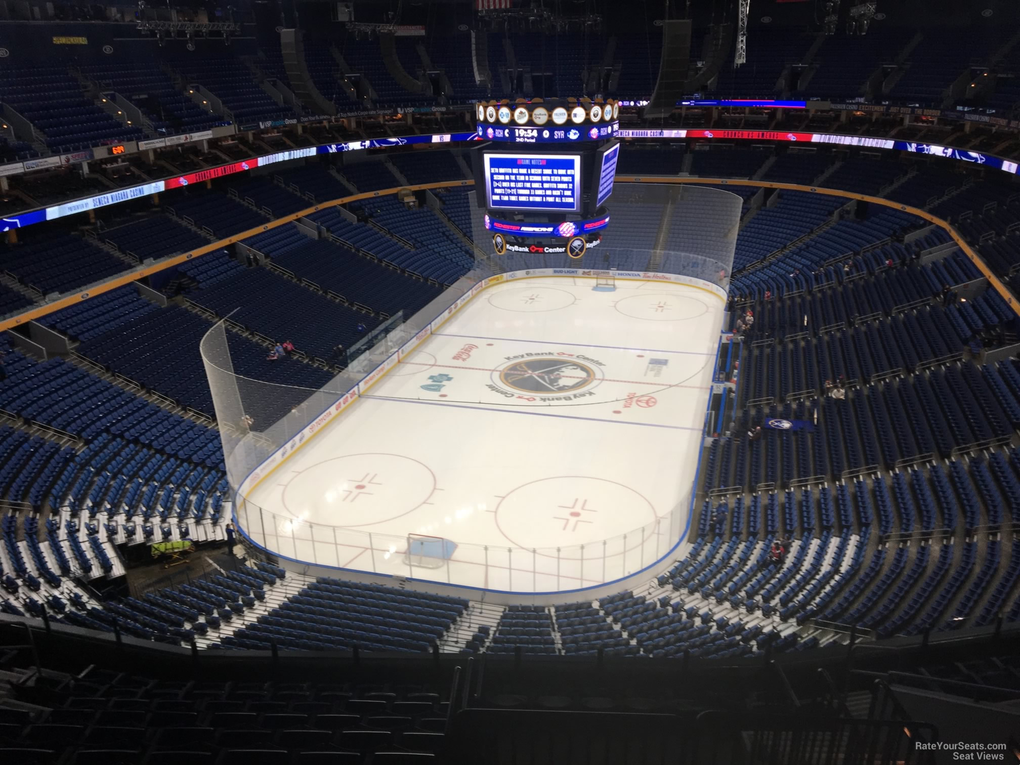 Buffalo Sabres Seat View for KeyBank Center Section 312