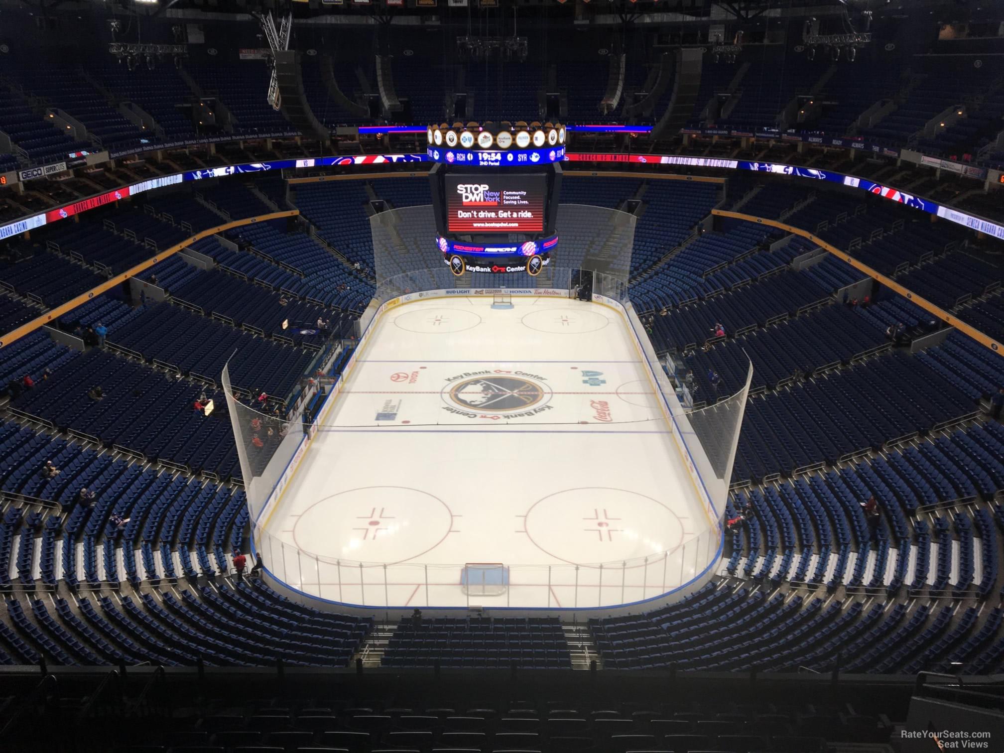 Keybank Center Section 327 Buffalo Sabres