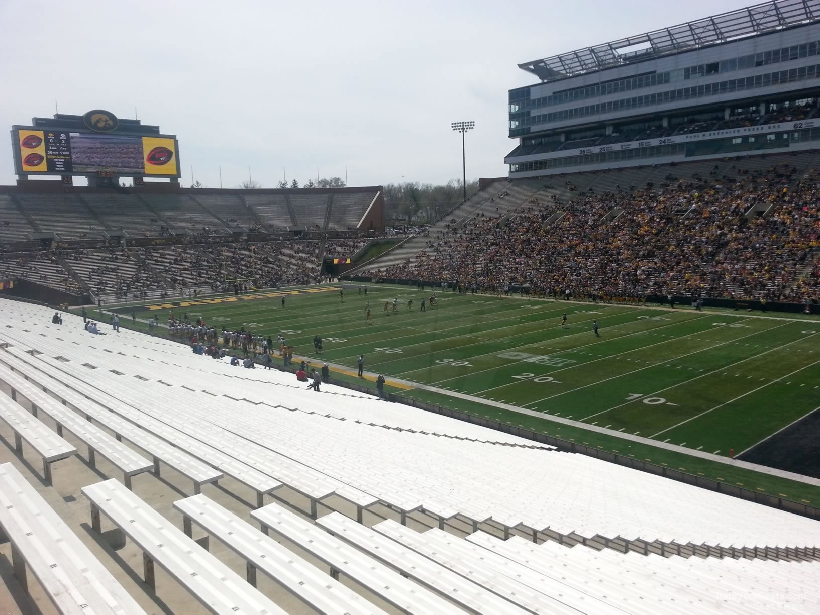 Kinnick Stadium Section 101