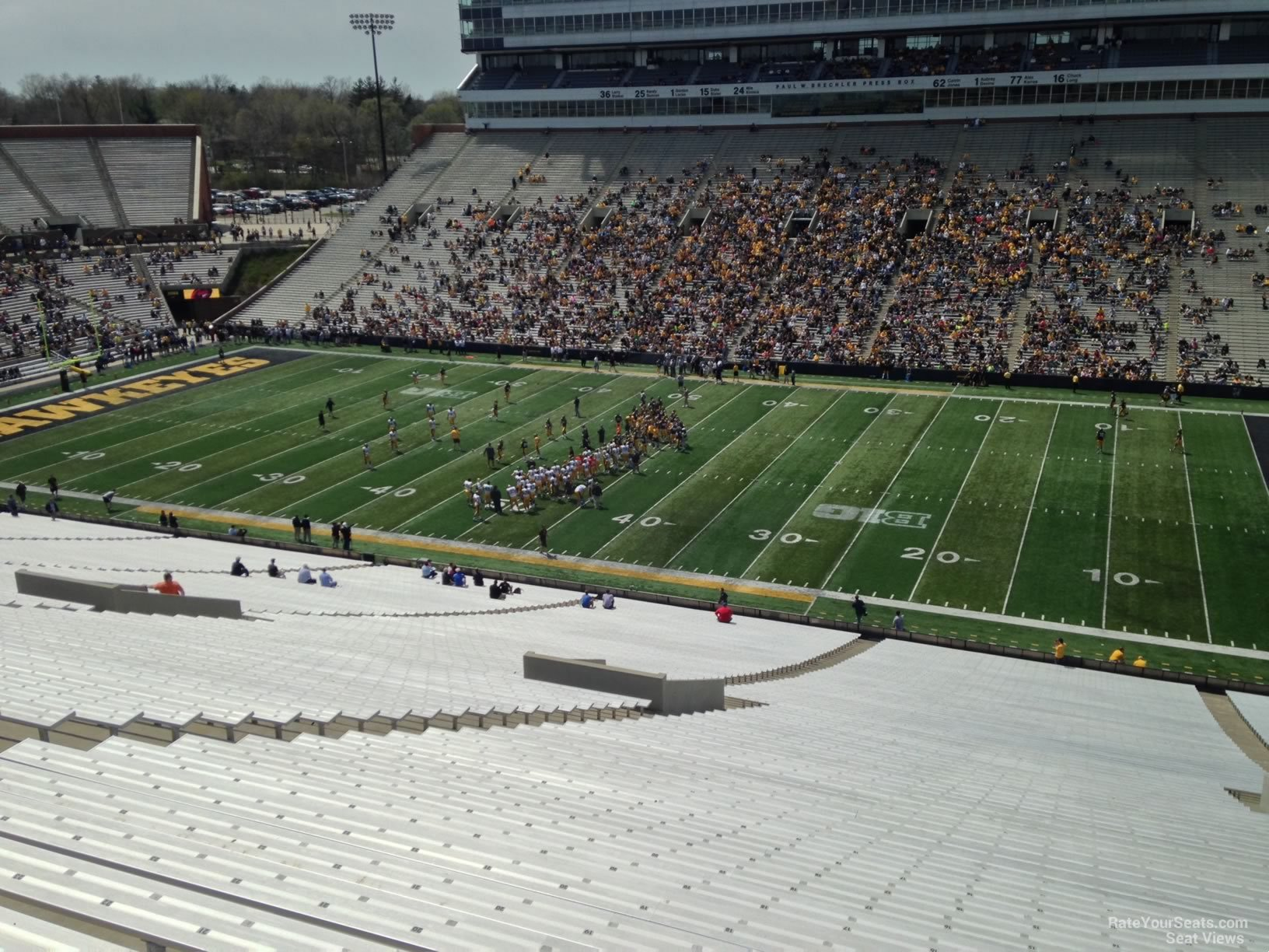 Kinnick Stadium Section 103 Rateyourseats Com