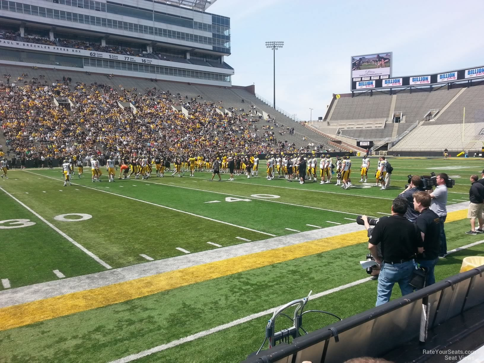 Seat View for Kinnick Stadium Section 107