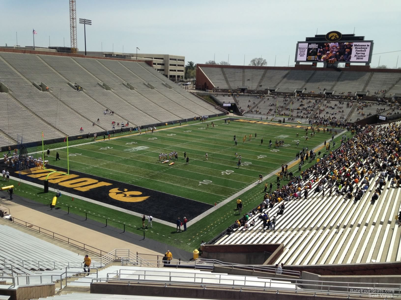 Kinnick Stadium Section 132