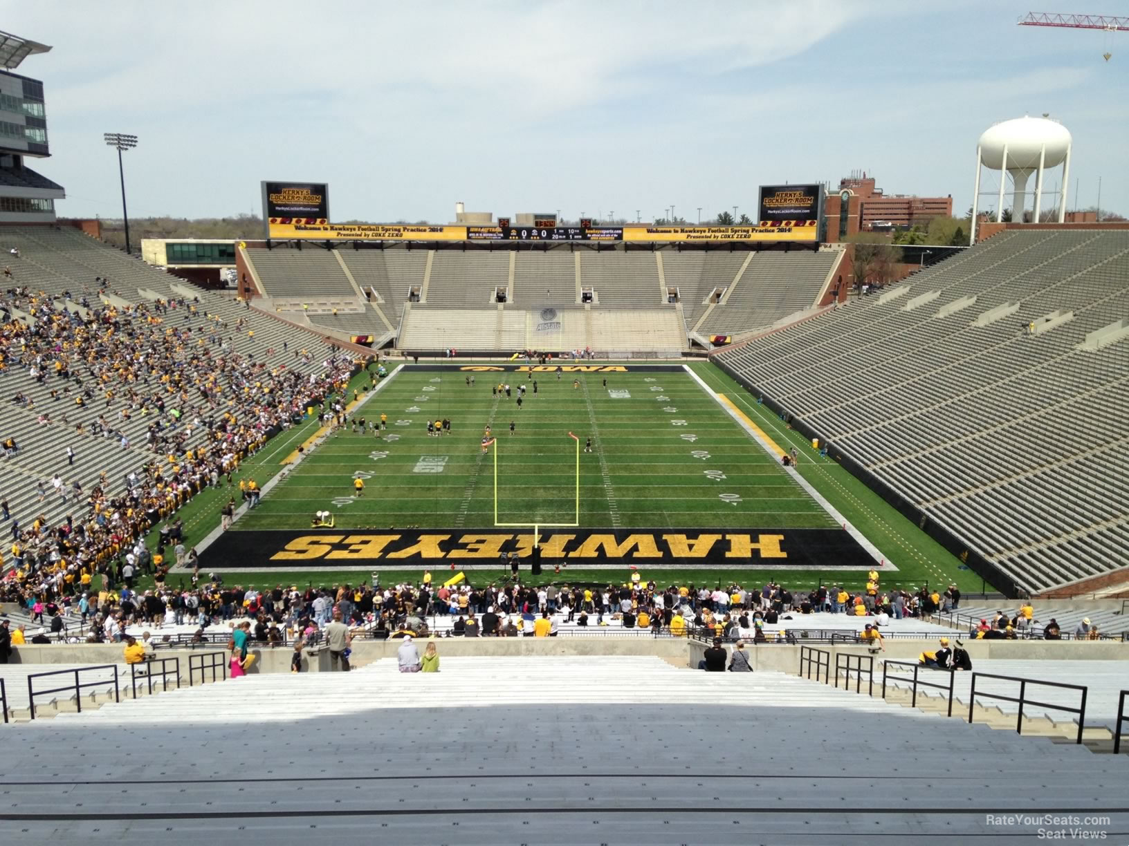 Section 216 seat view