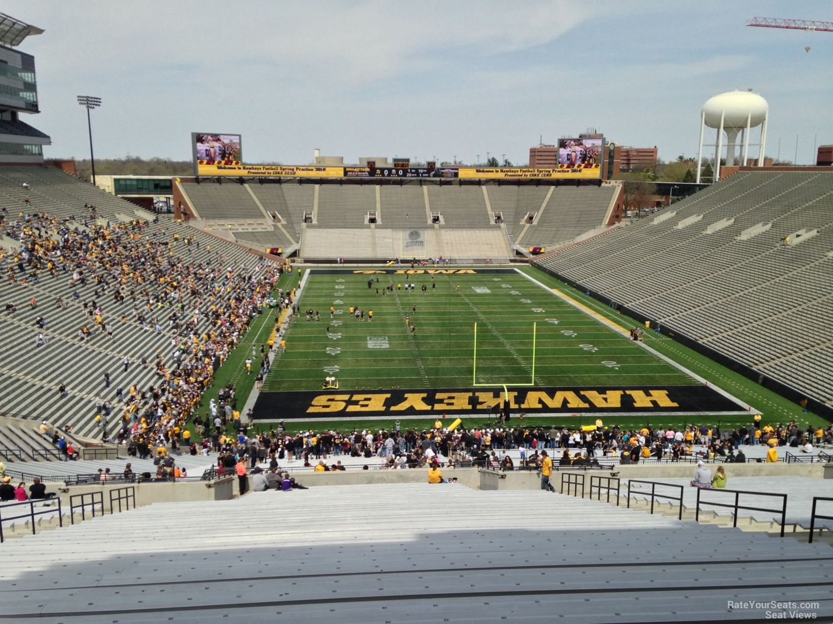 Section 217 seat view