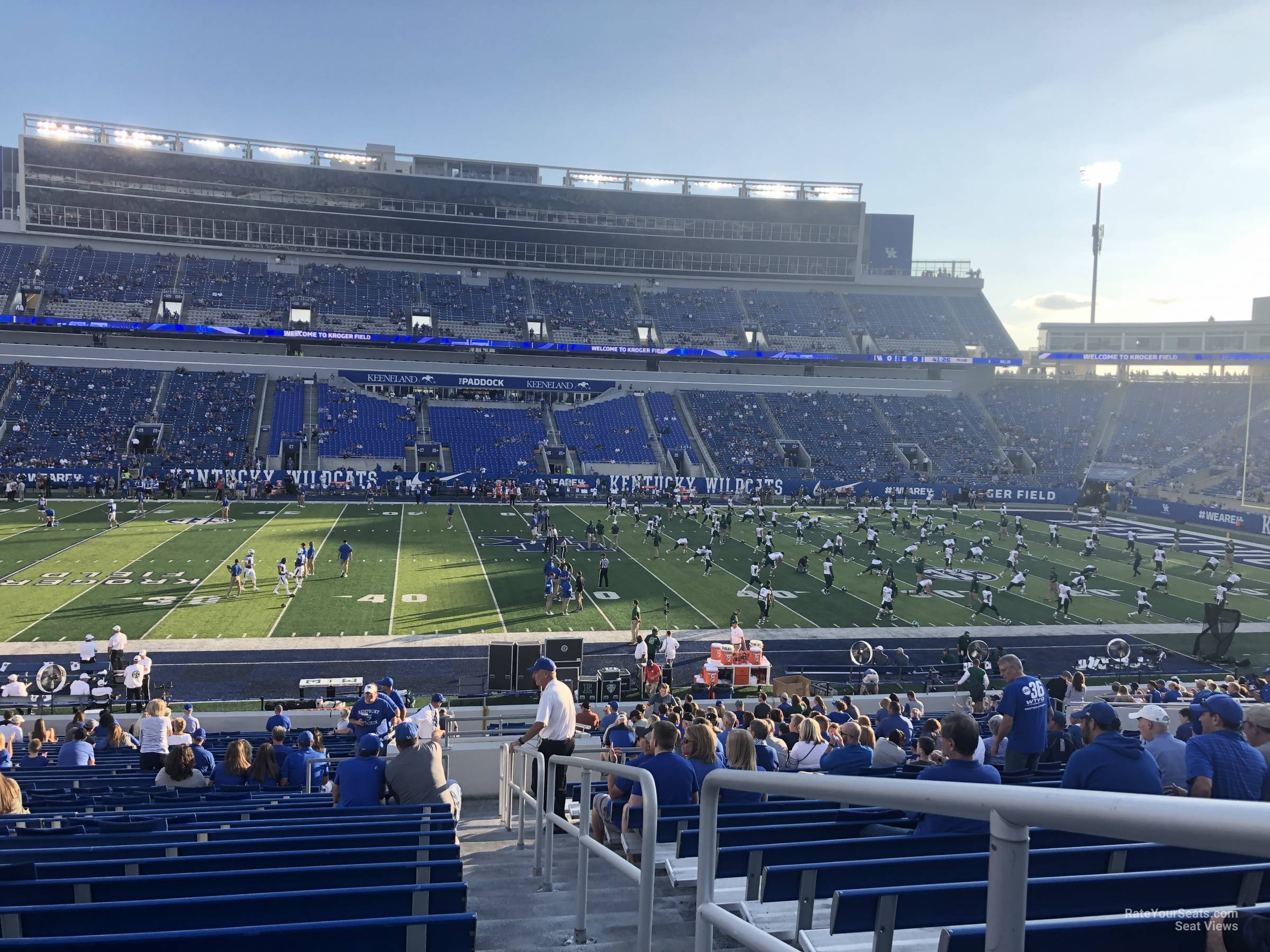 Section 5 seat view