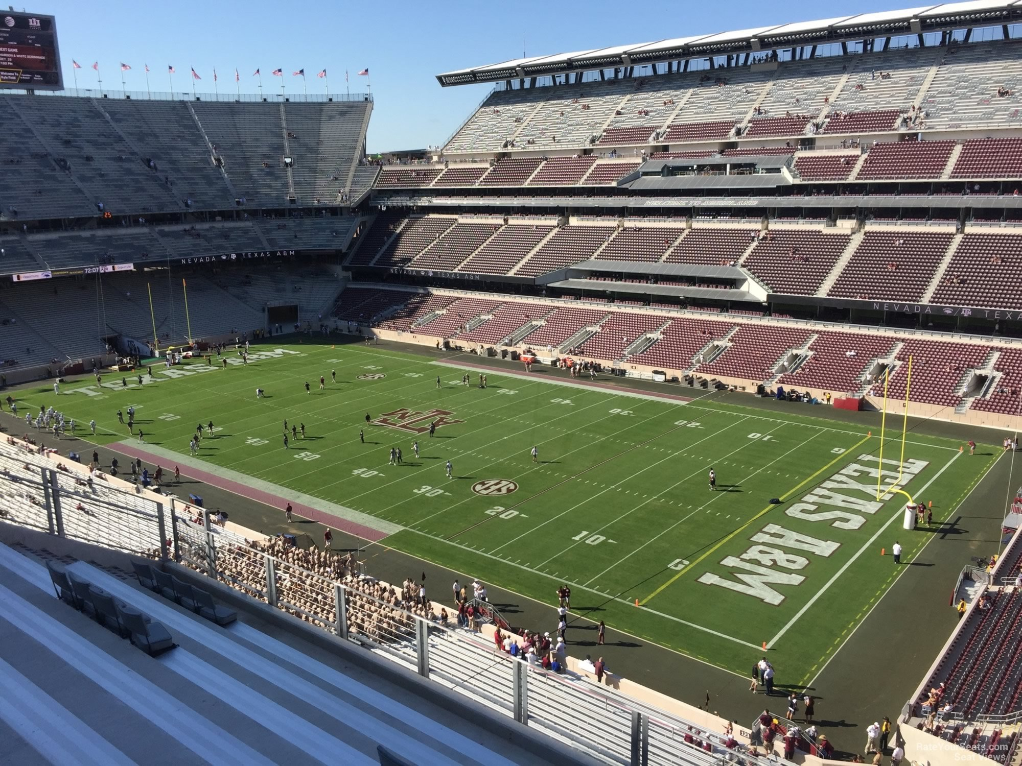Kyle Field Section 329