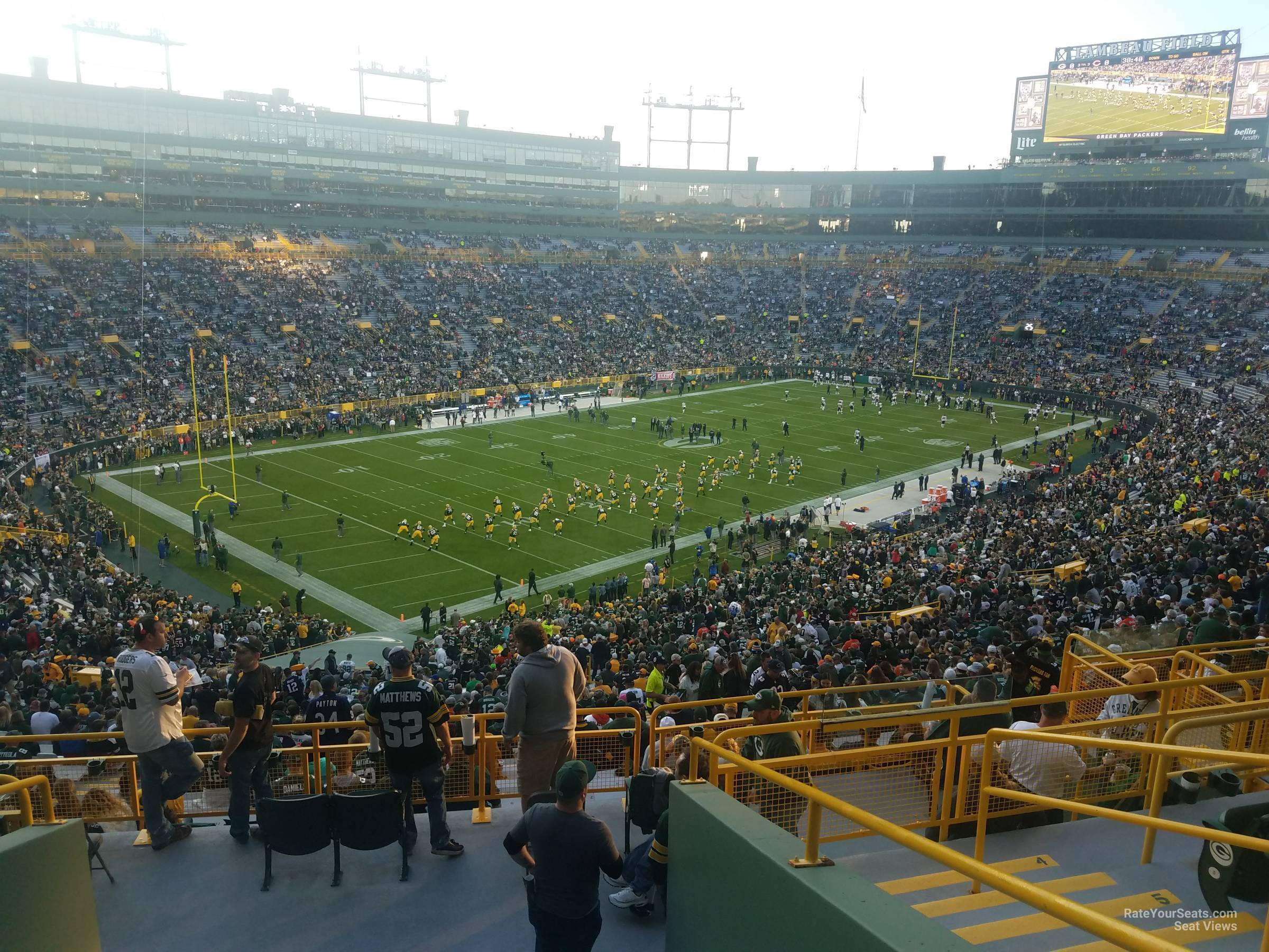 Lambeau Field Section 433 - RateYourSeats.com