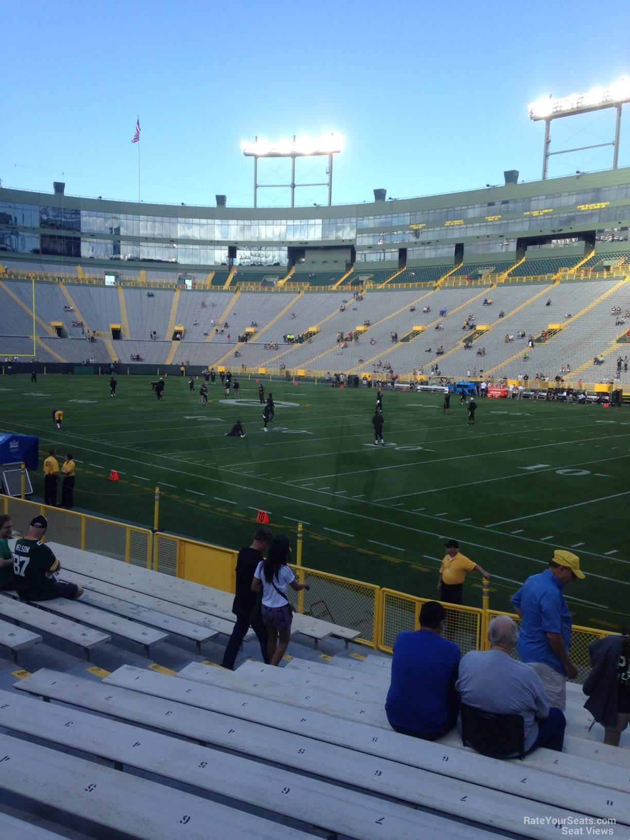 Lambeau Field Section 130 Rateyourseats Com