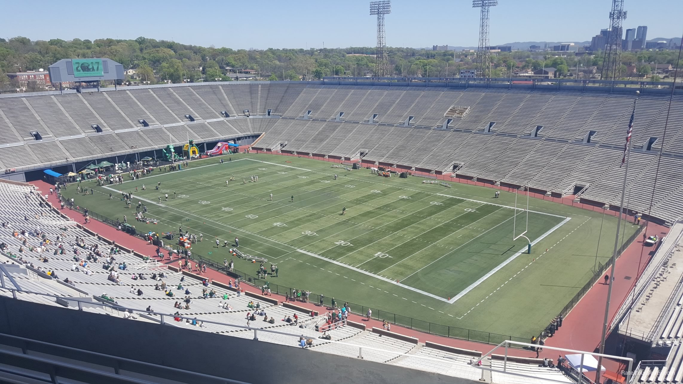 Section 6U1 seat view