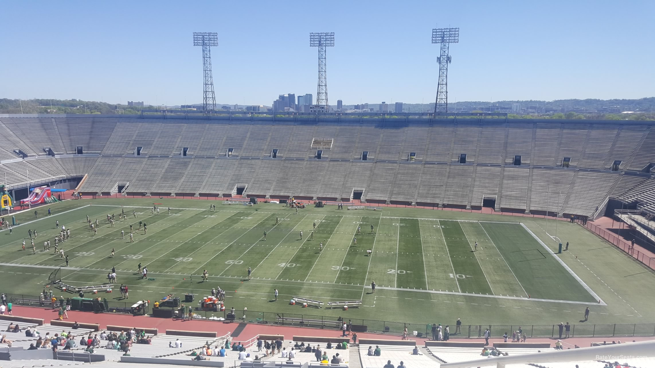 Section 8U1 seat view