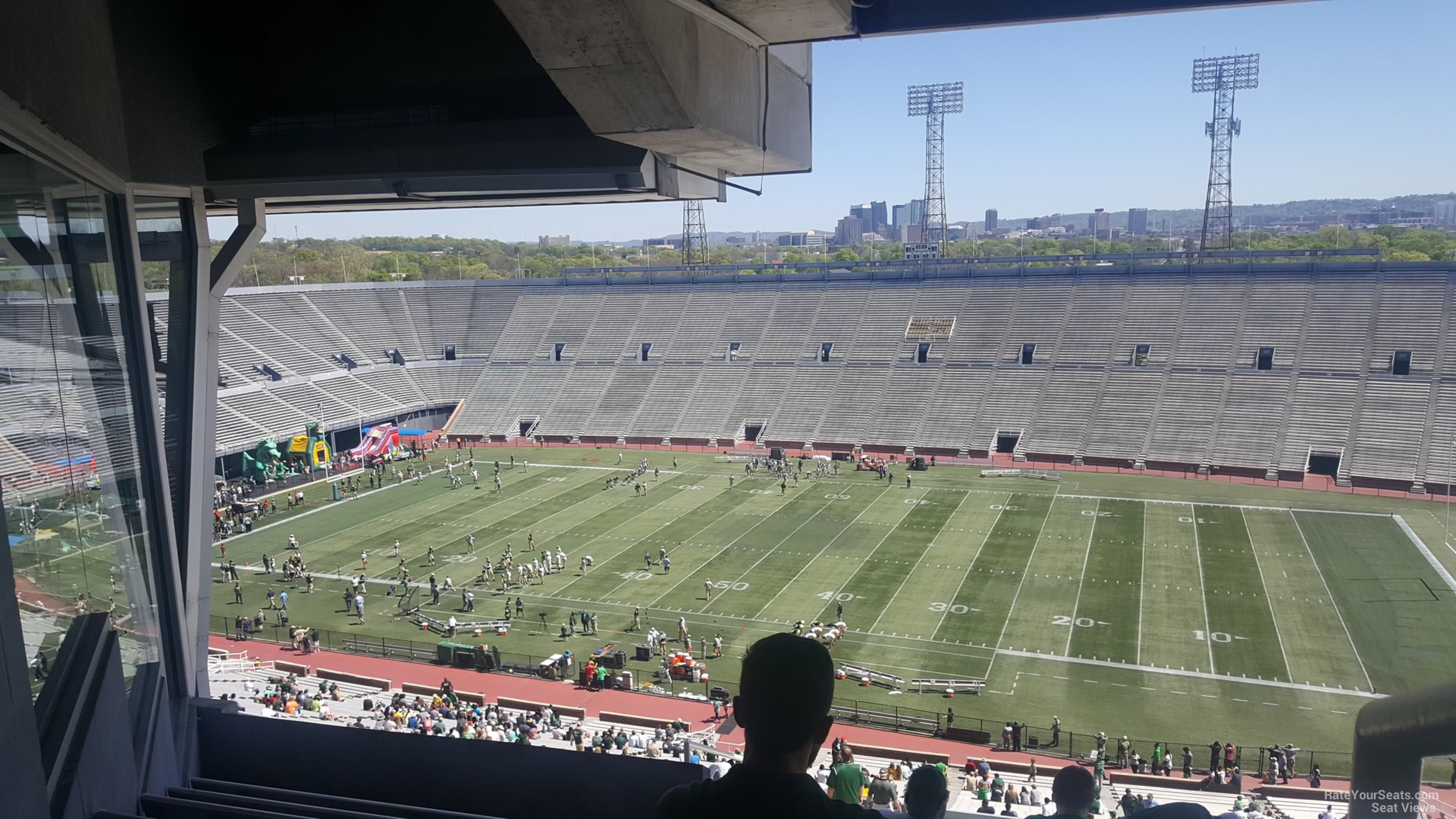 Section 9U1 seat view