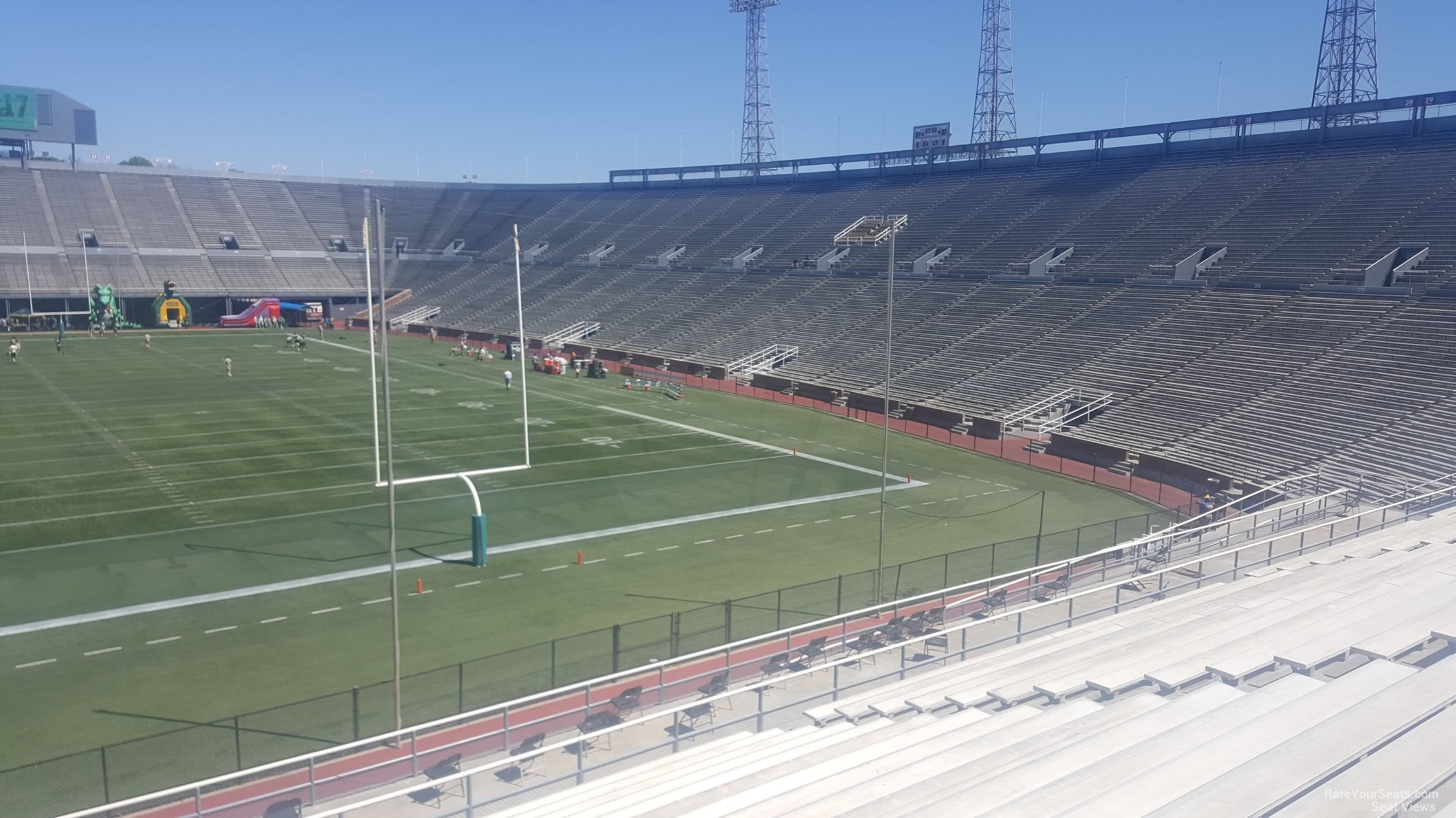 Seat View for Legion Field South Stands