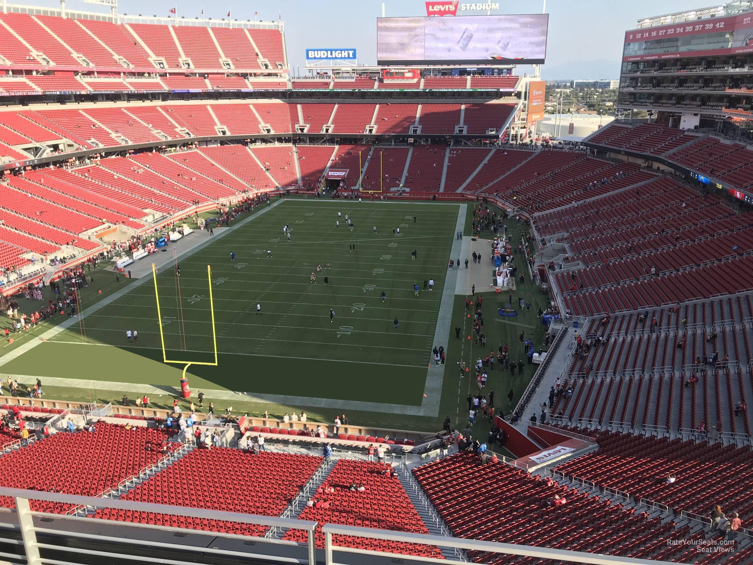 levi's stadium section 301 - rateyourseats