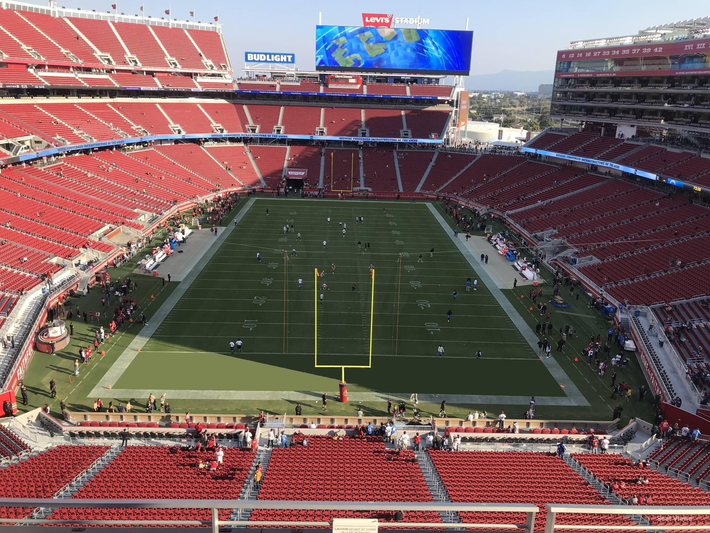 levi's stadium section 303 - rateyourseats
