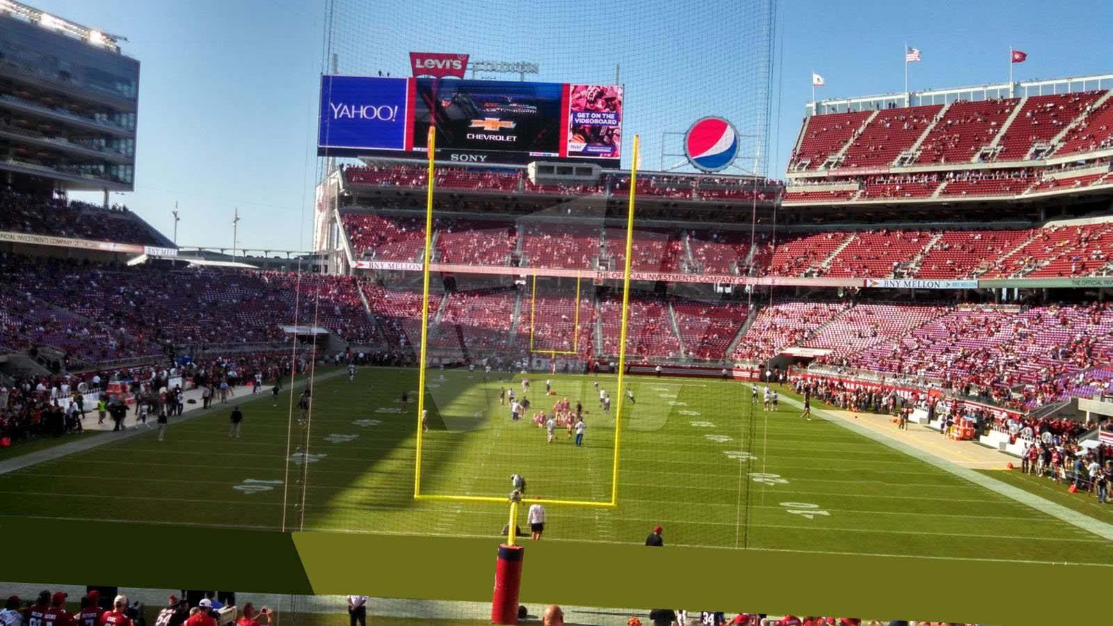 levi's stadium section 127 - rateyourseats