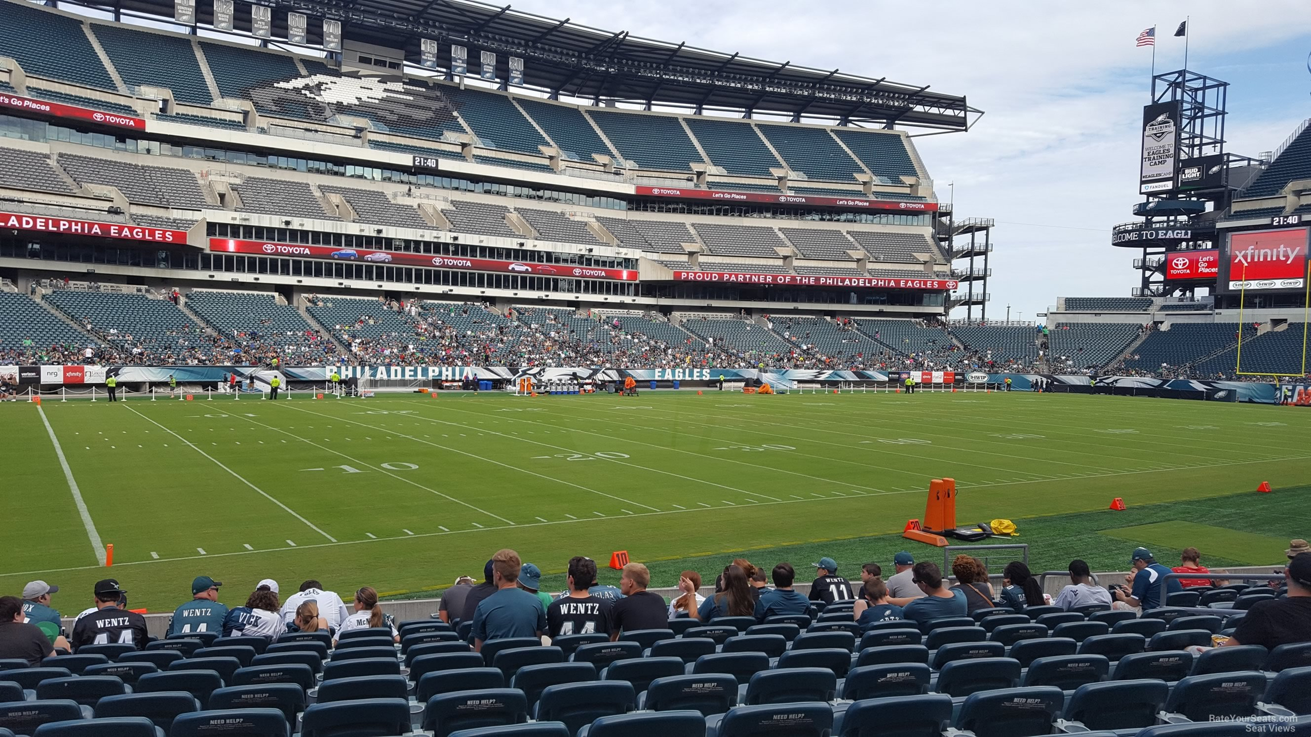 Lincoln Financial Field Section 116 Philadelphia Eagles