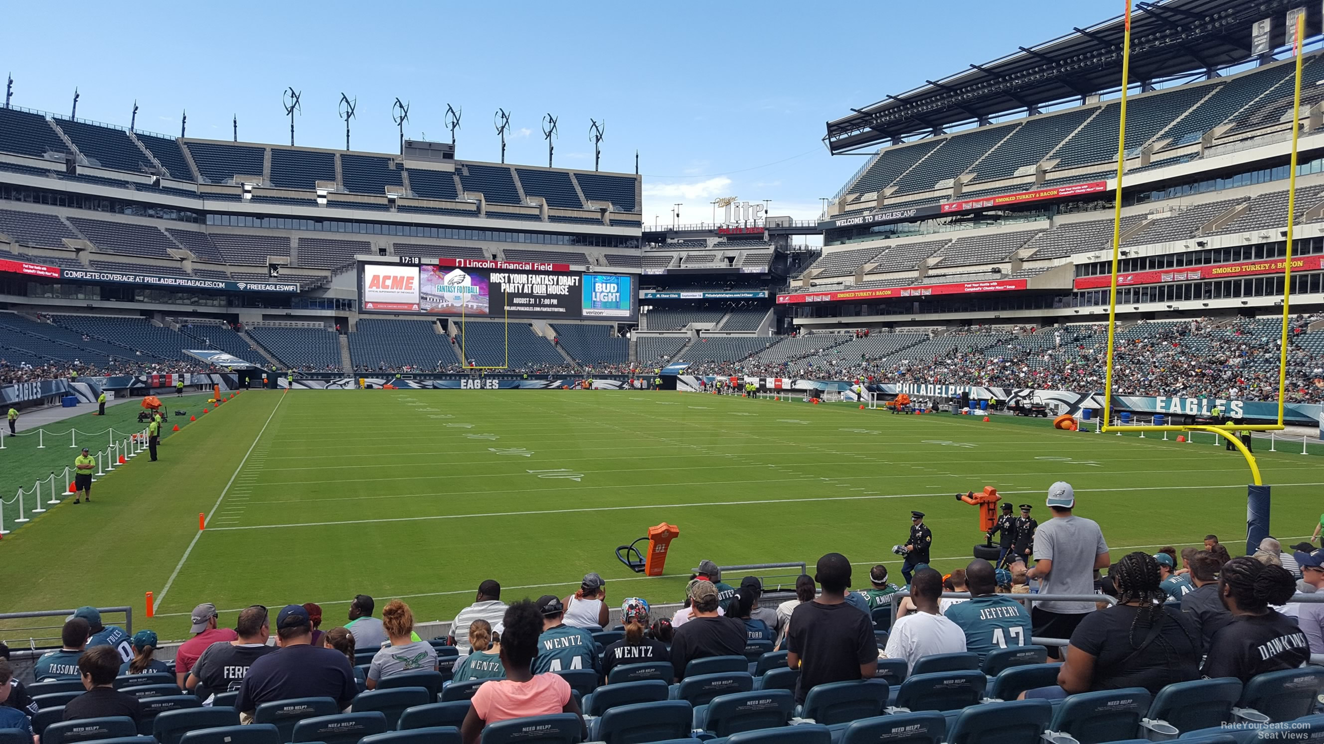 Lincoln Financial Field Section 128 Philadelphia Eagles
