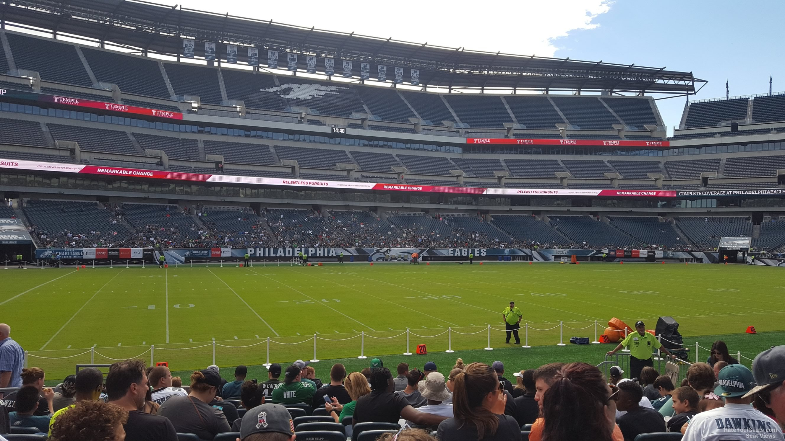 Section 136 seat view