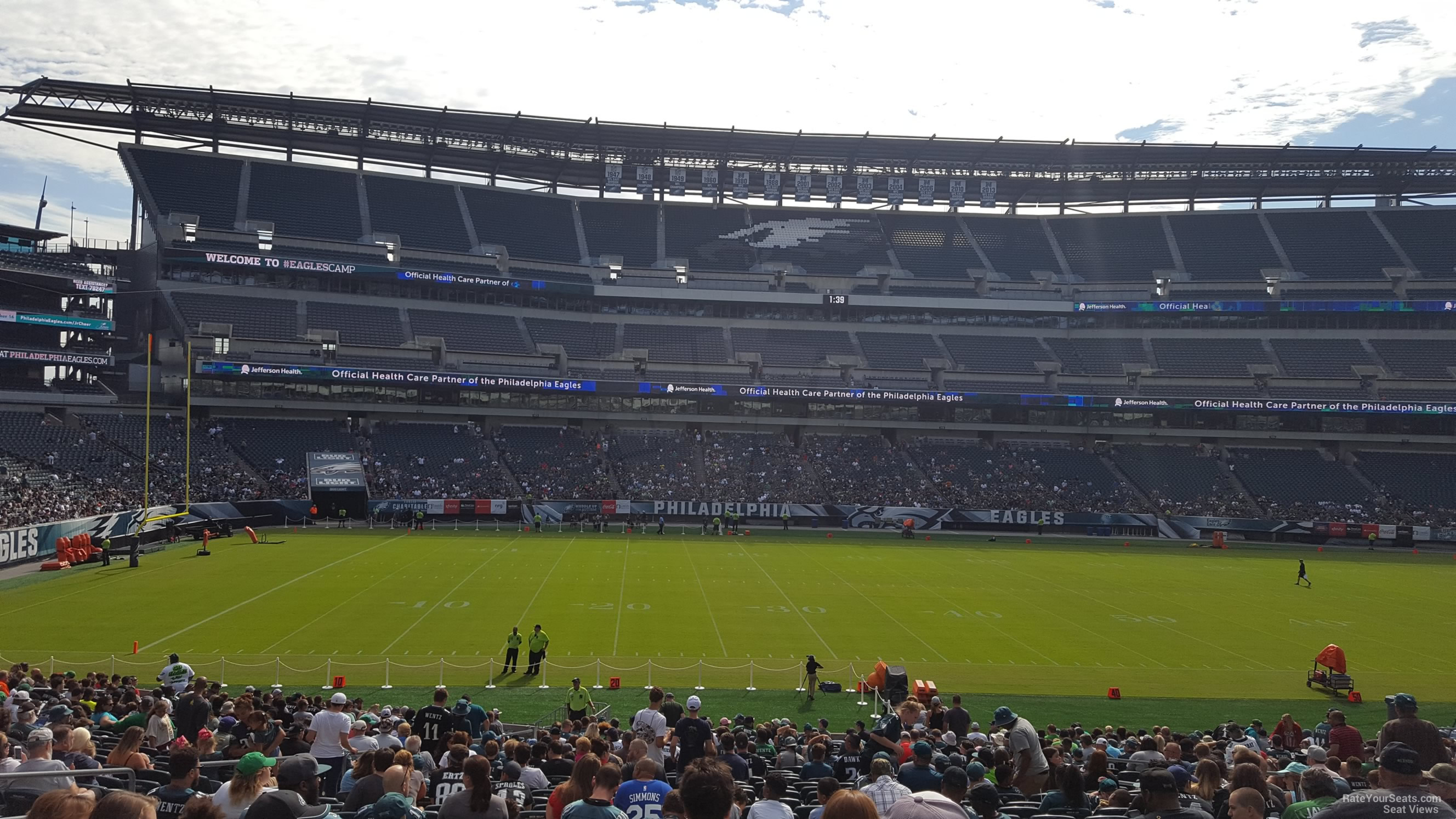 Section 137 seat view
