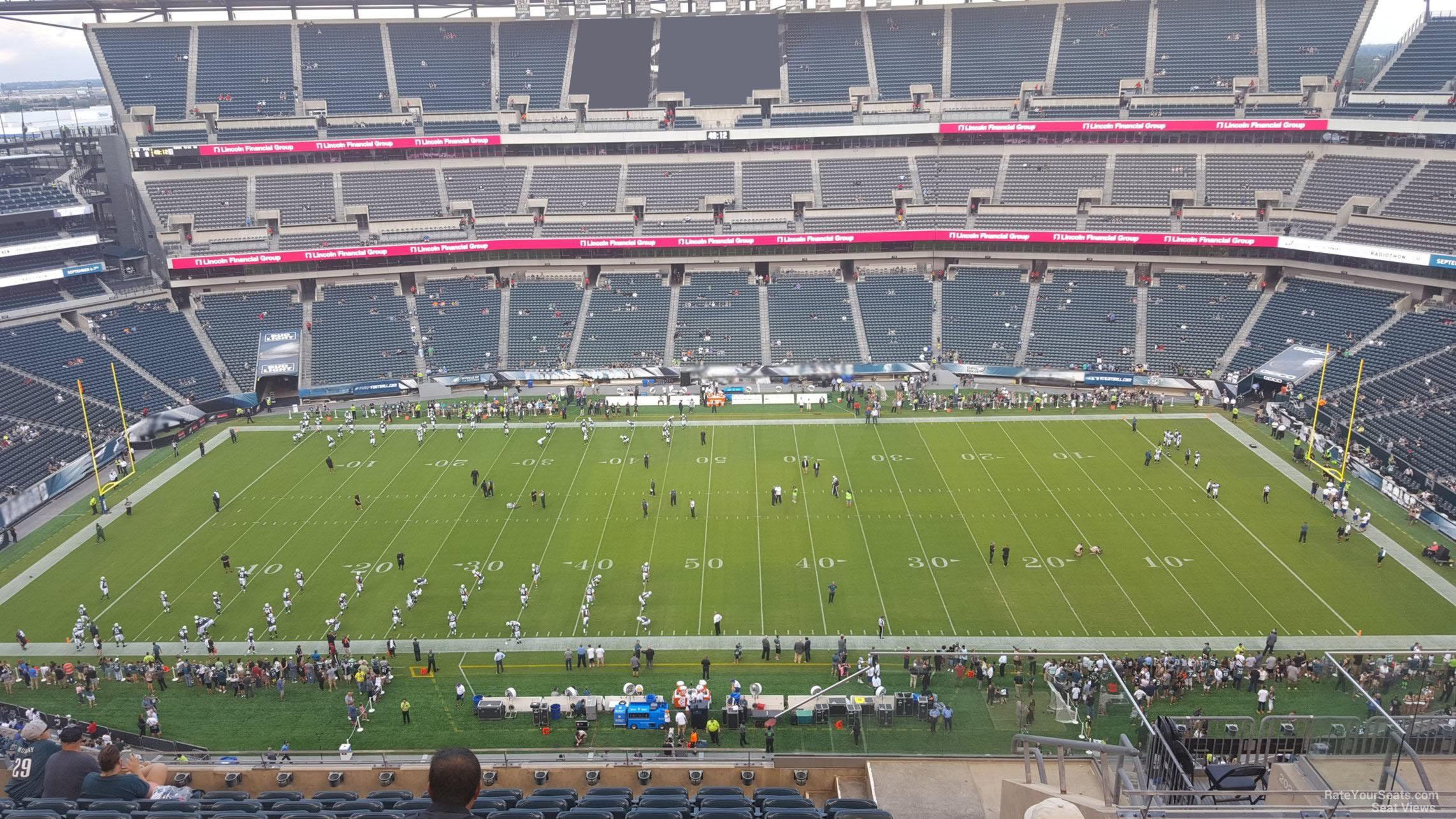 Lincoln Financial Field Section 201 Philadelphia Eagles