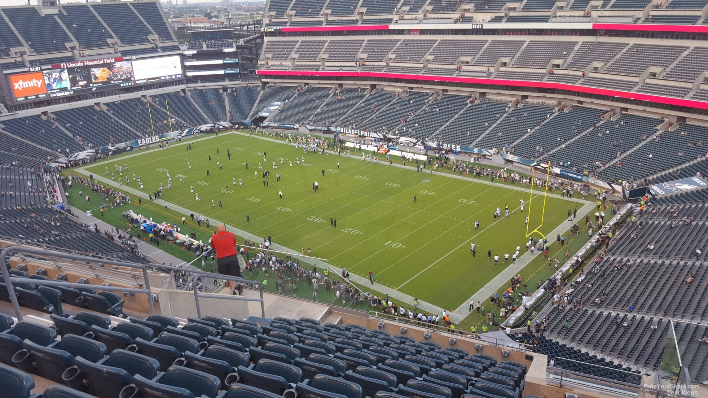 Lincoln Financial Field Section 207 Philadelphia Eagles