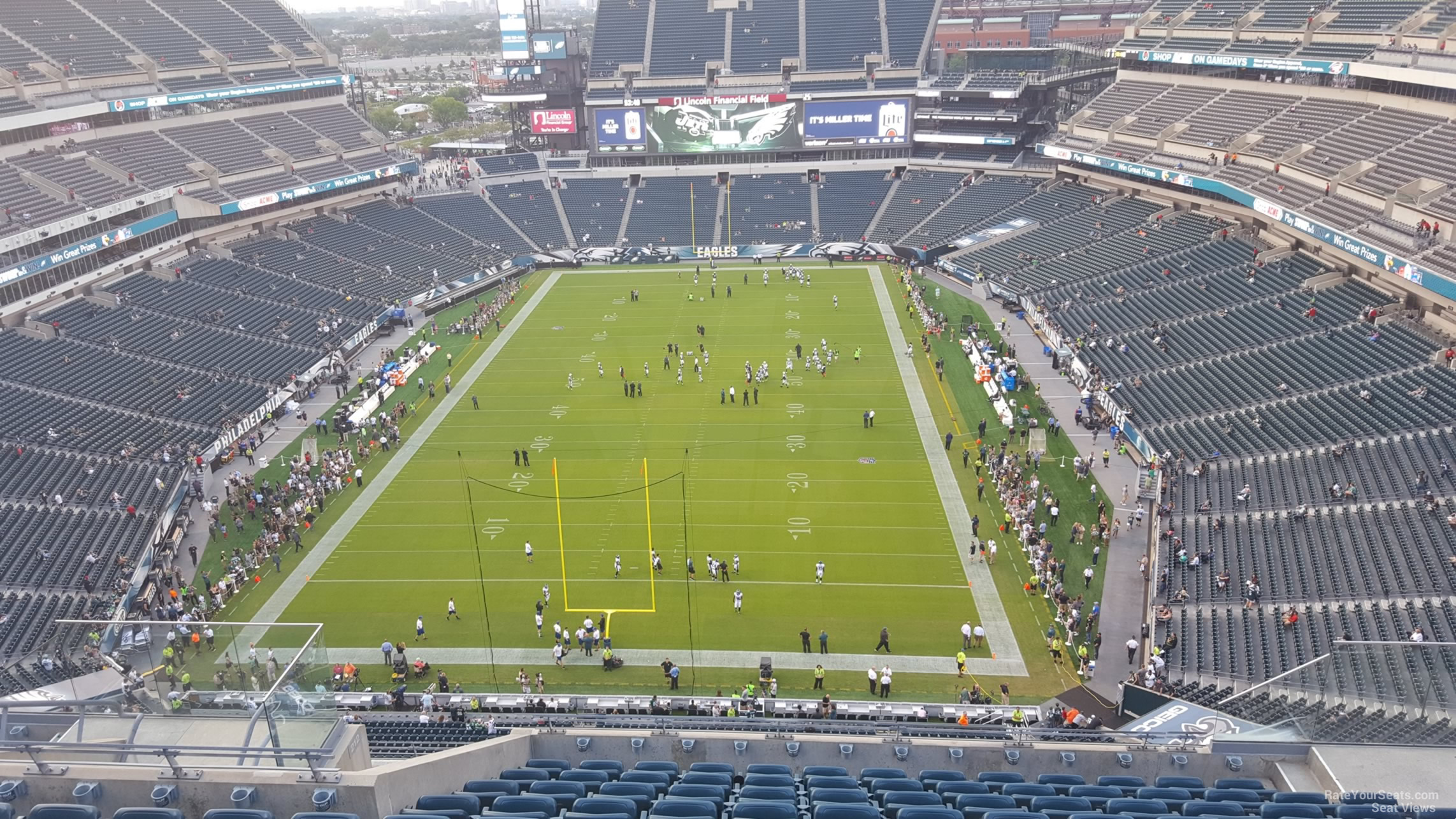 Seat View for Lincoln Financial Field Section 213, Row 15