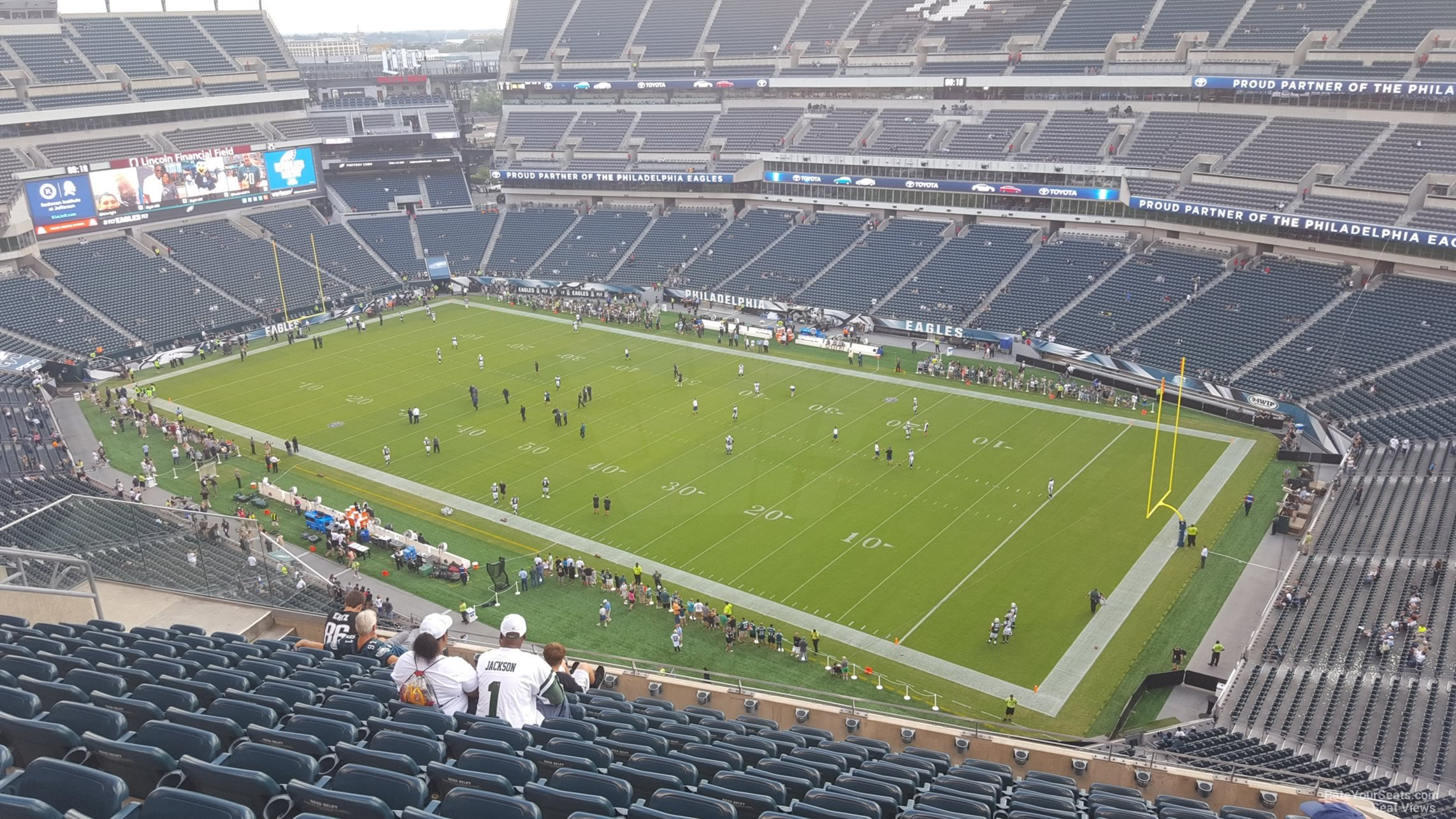 Lincoln Financial Field Section 230 Philadelphia Eagles