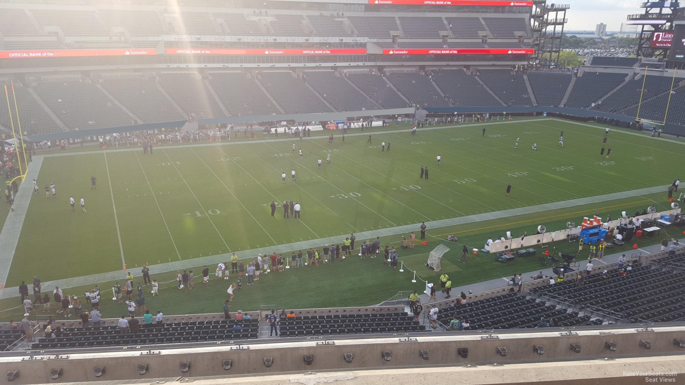 Lincoln Financial Field Section C18 Philadelphia Eagles
