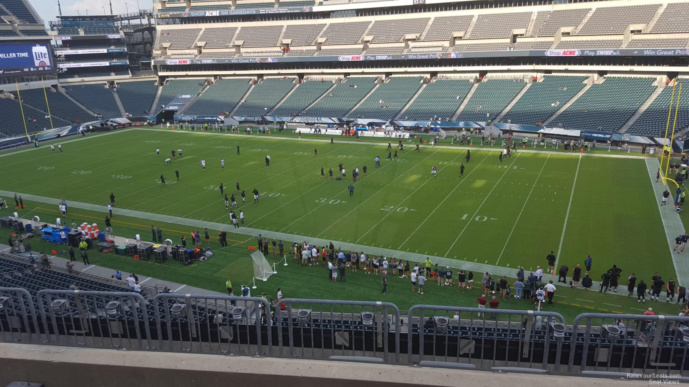 Lincoln Financial Field Section C4 Philadelphia Eagles