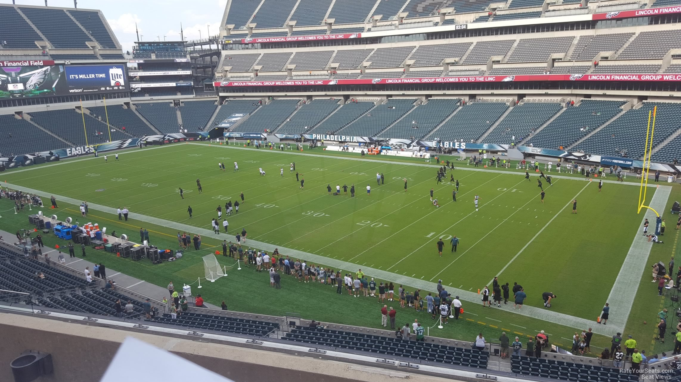 Seat View For Lincoln Financial Field Section C5