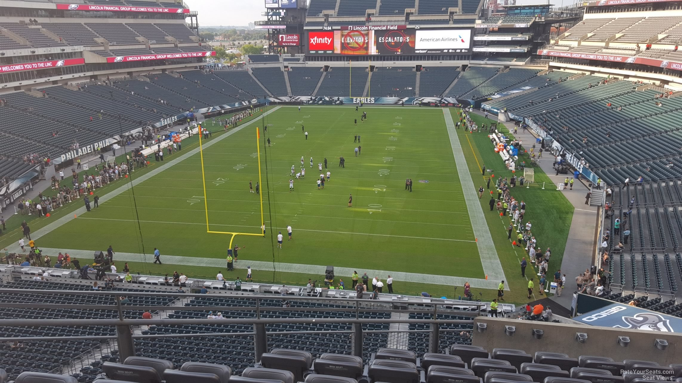 Seat View For Lincoln Financial Field Section M12