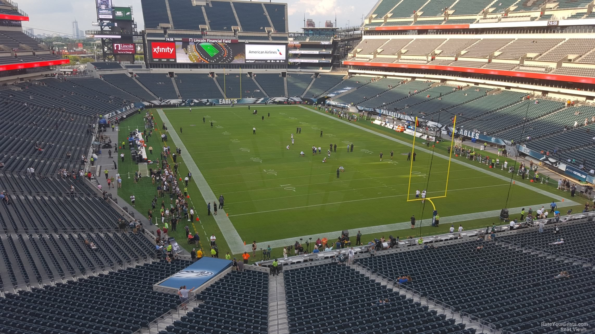 Lincoln Financial Field Sectio...