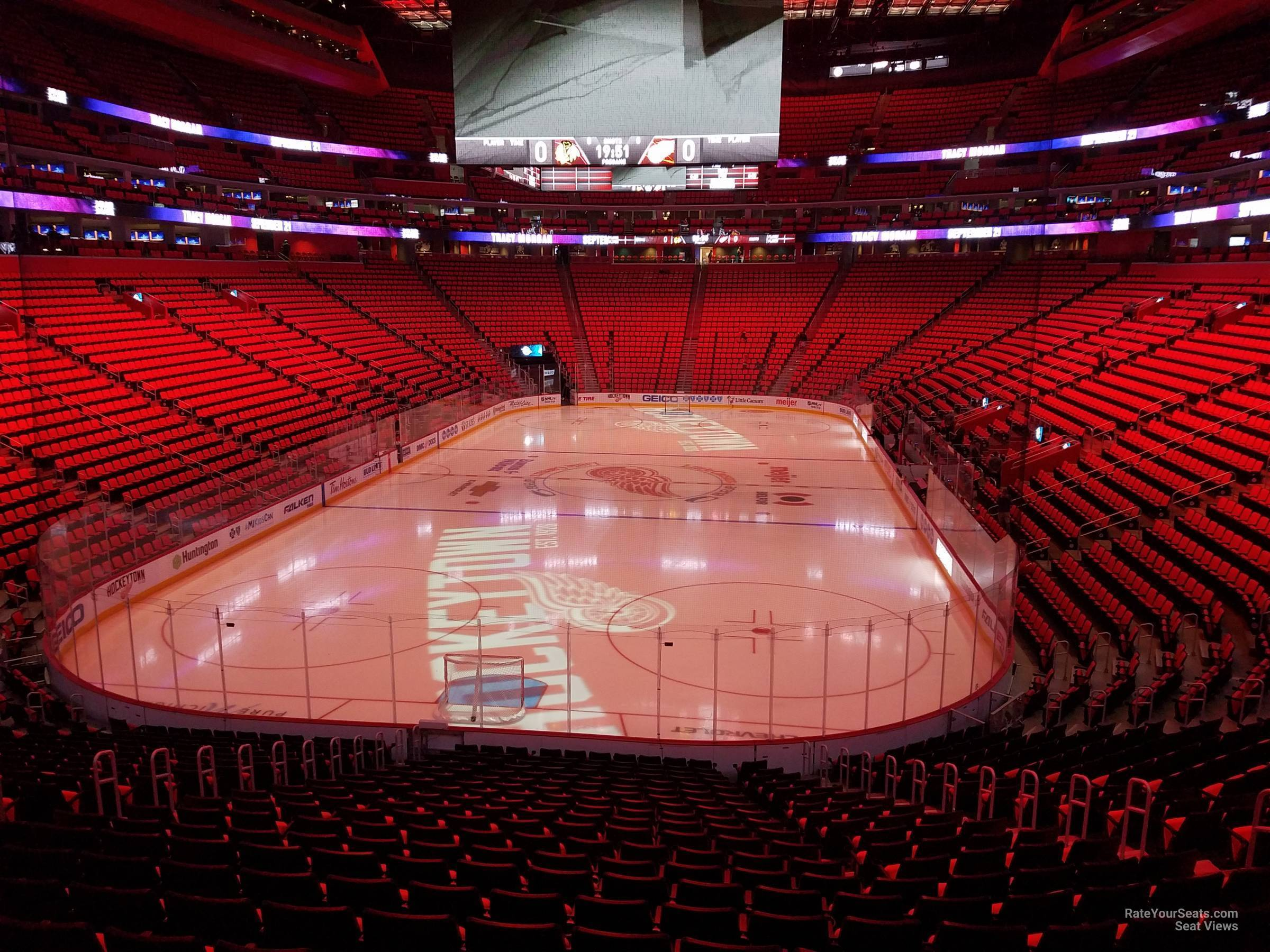 Little Caesars Arena Section 102 - Detroit Red Wings - RateYourSeats.com