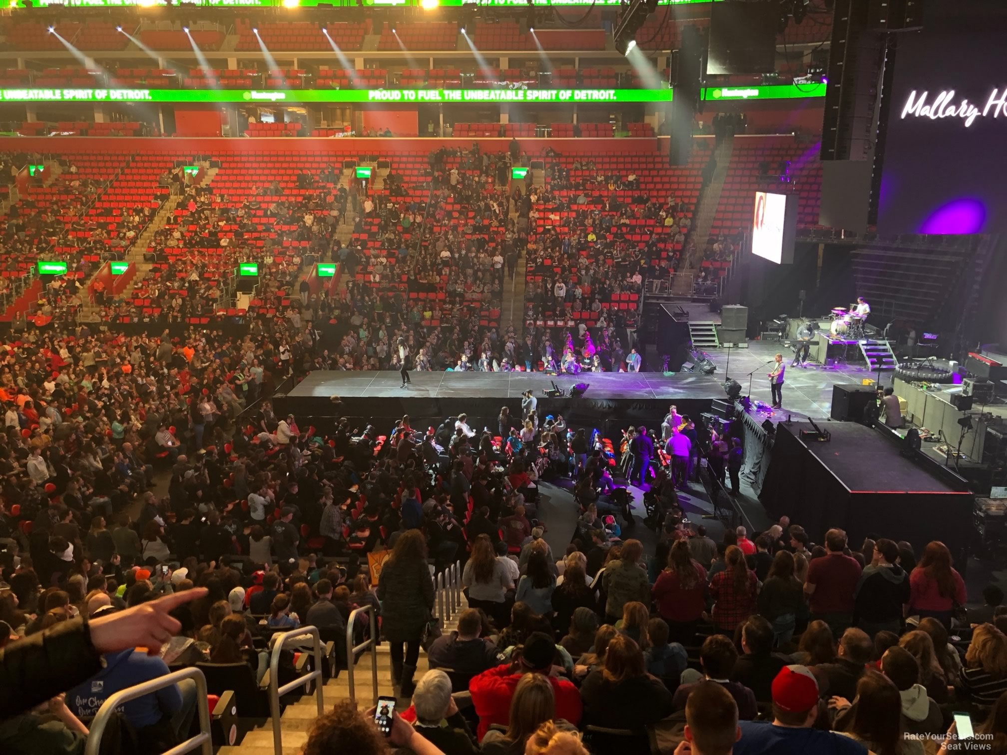 Little Caesars Arena Seat View Concert – Review Home Decor